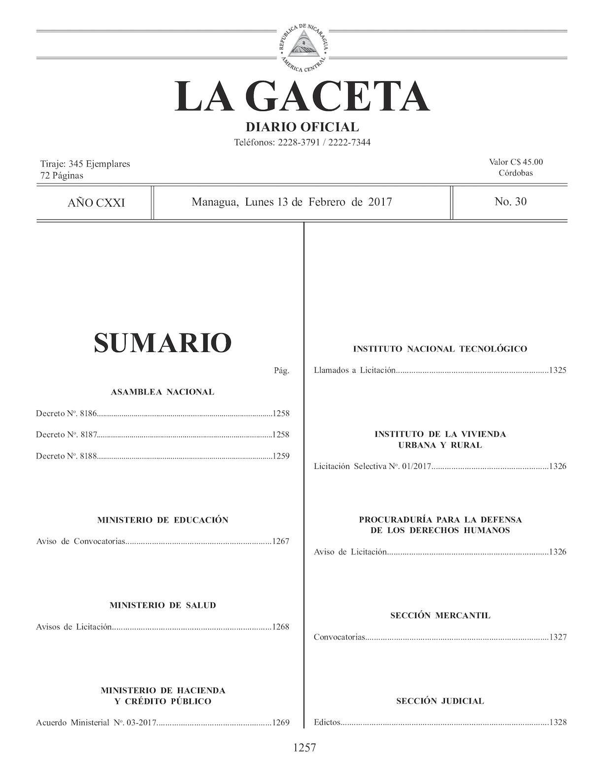 Imprimir Calendario Enero 2019 Chile Mejores Y Más Novedosos Calaméo Gaceta No 30 Lunes 13 De Febrero De 2016