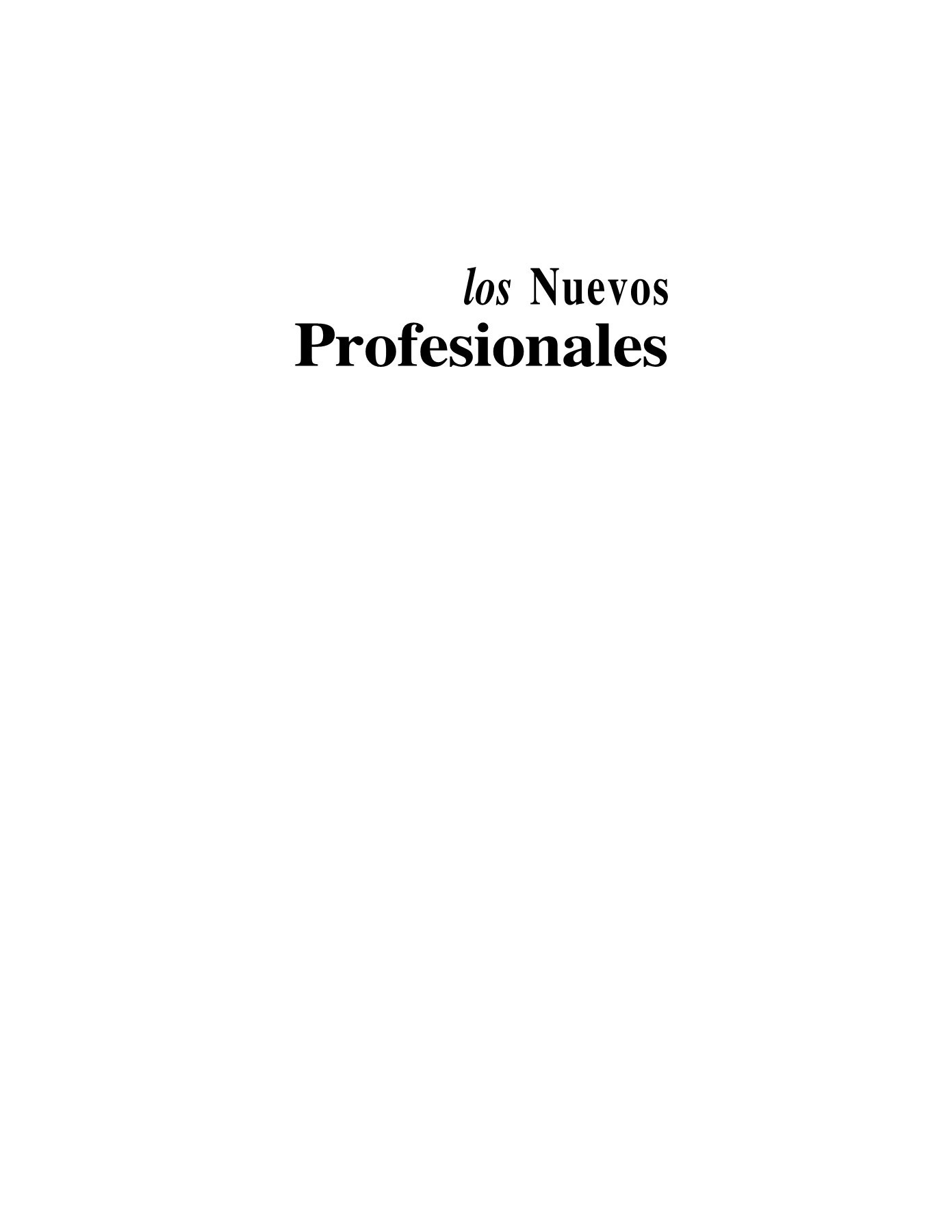 Los Nuevos Profesionales Charles King Pages 1 50 Text Version