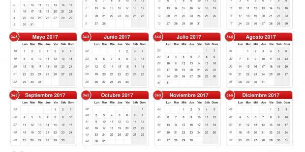 Imprimir Calendario Mes De Octubre 2019 Más Arriba-a-fecha Calendario 2017