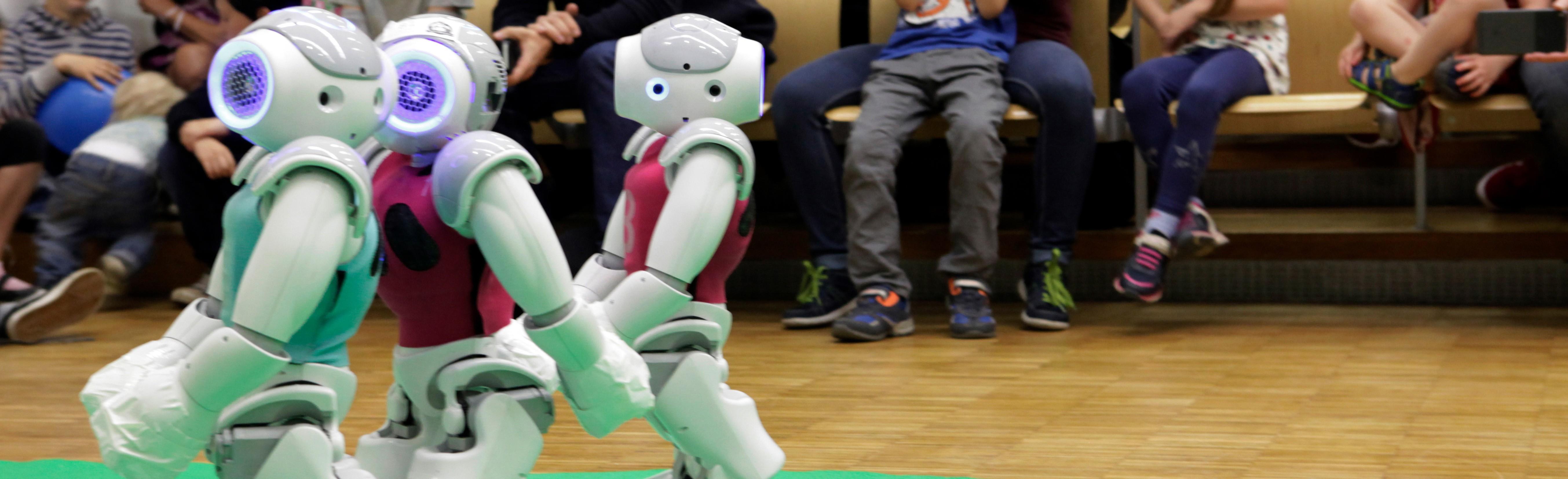 Von Robotern über den Menschen lernen