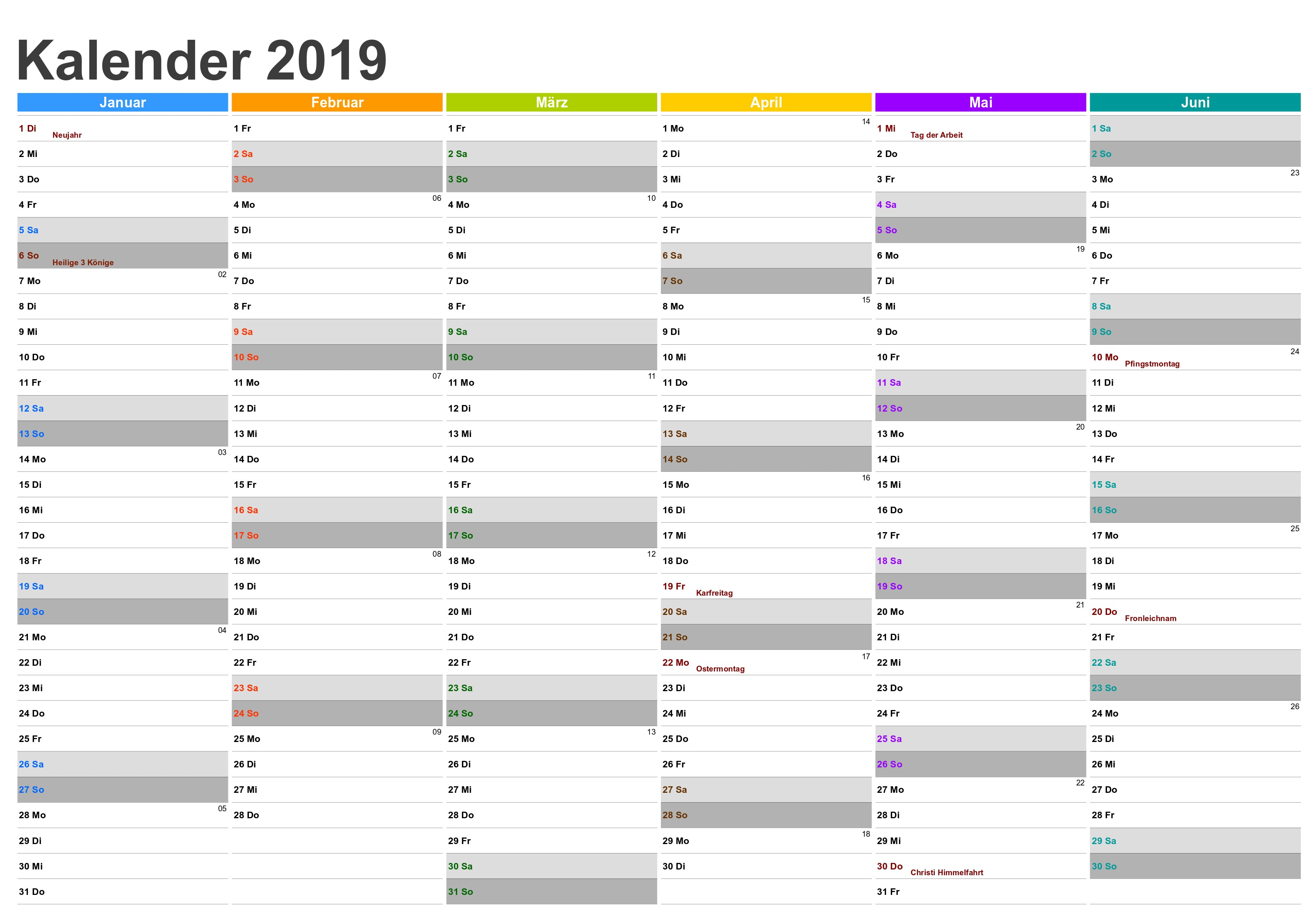 Kalender 2019 Excel Download Kostenlos Más Actual Kalender 2019 Word Bayern Of Kalender 2019 Excel Download Kostenlos Más Recientemente Liberado Calendar Editable Excel