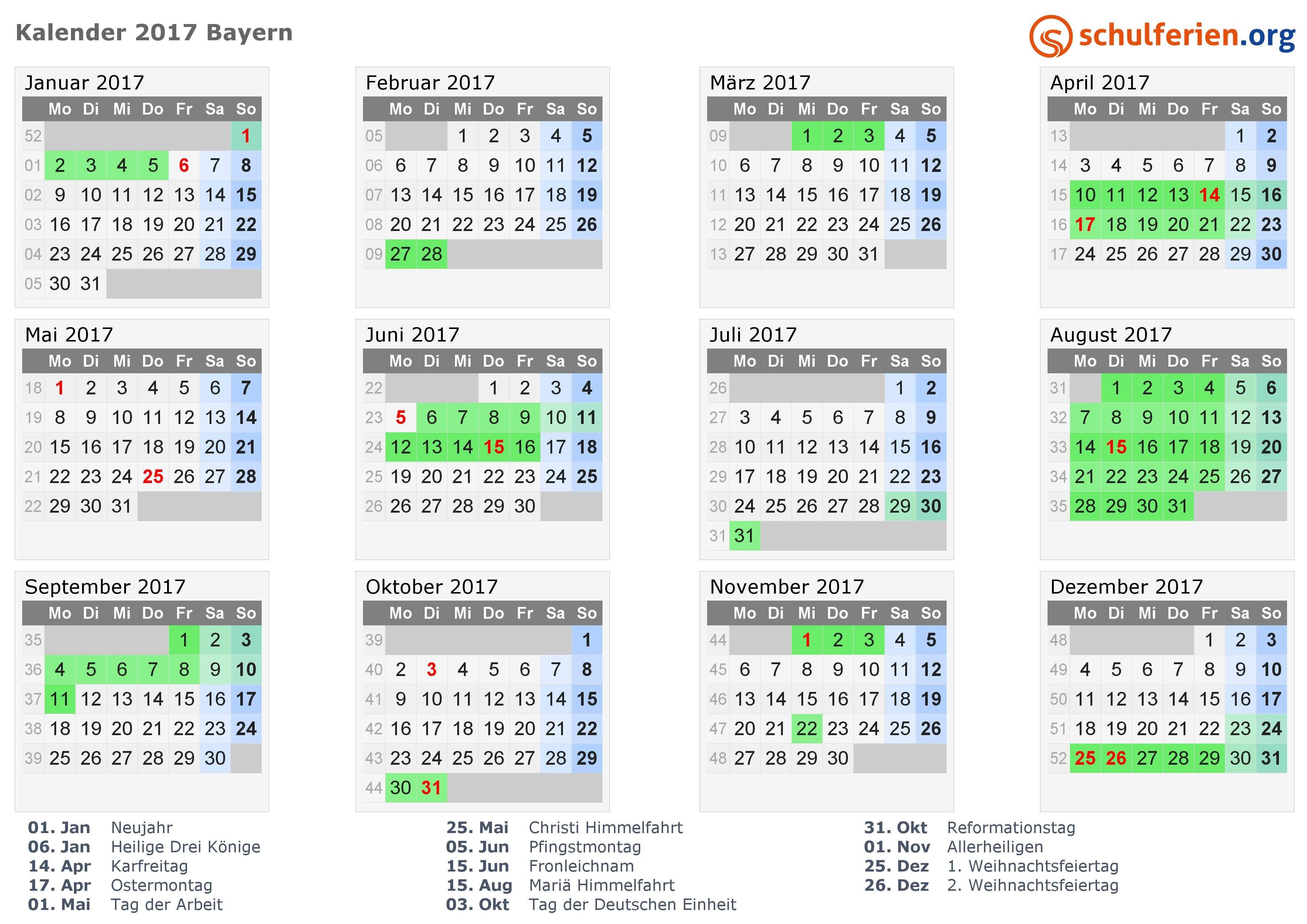 Kalender 2017 Ferien Bayern Feiertage Design ideen Von Ferien Weihnachten 2017 32 Elegant Ferien