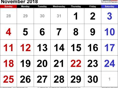 Kalender 2019 Excel Mit Feiertagen Más Populares Kalender November 2016 Zum Ausdrucken Excel — Hylenddawards