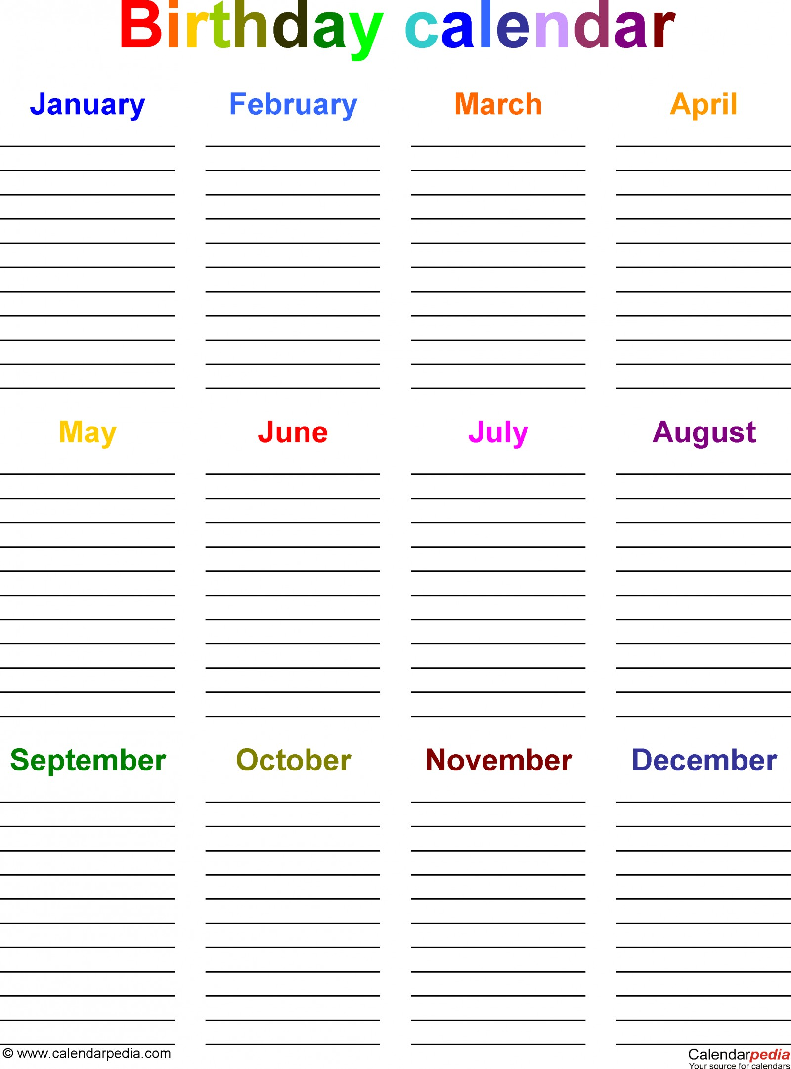 birthday calendars 7 free printable word templates calen calendar template microsoft pocket excel 2010 1600