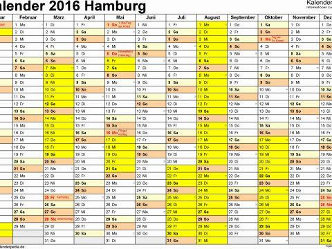 Kalender 2019 Hamburg Excel Recientes 35 Inspirierend Fotografie Von Jahreskalender 2016 Drucken