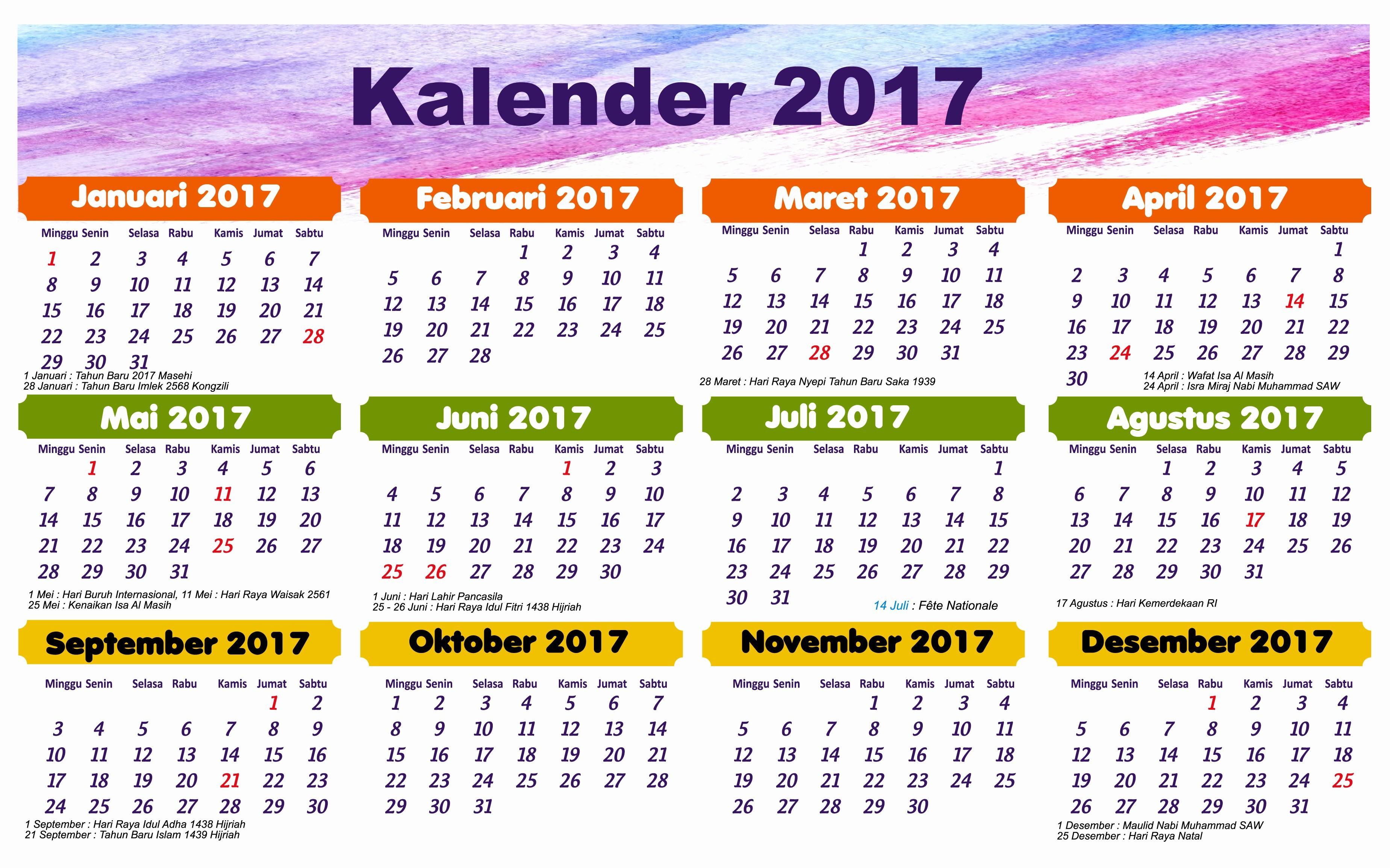 Hisd Calendar 2018 Calendar 2016 Indonesia Hari Libur Hari Libur S