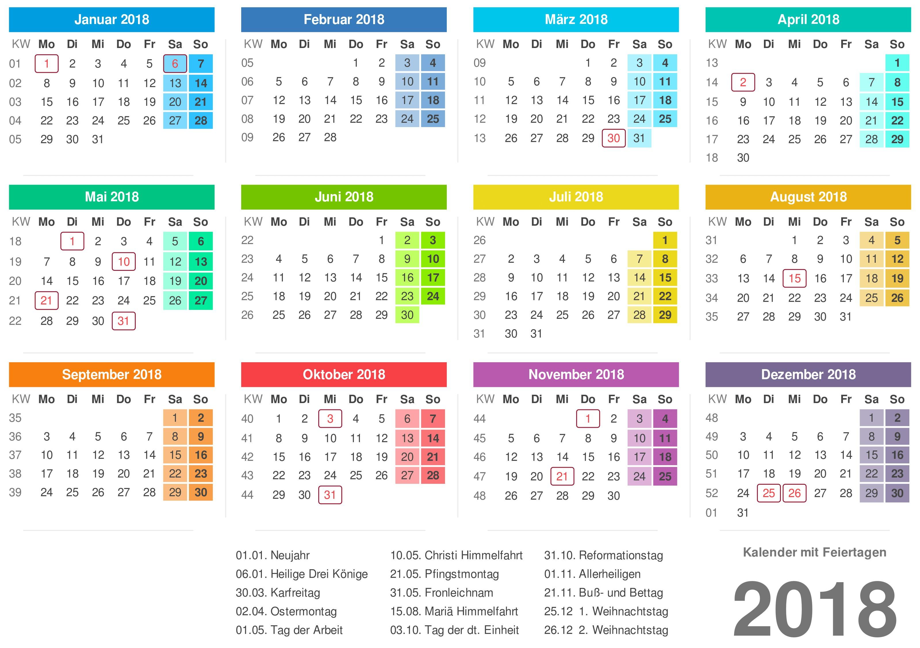 kalender mit feiertagen with kalender