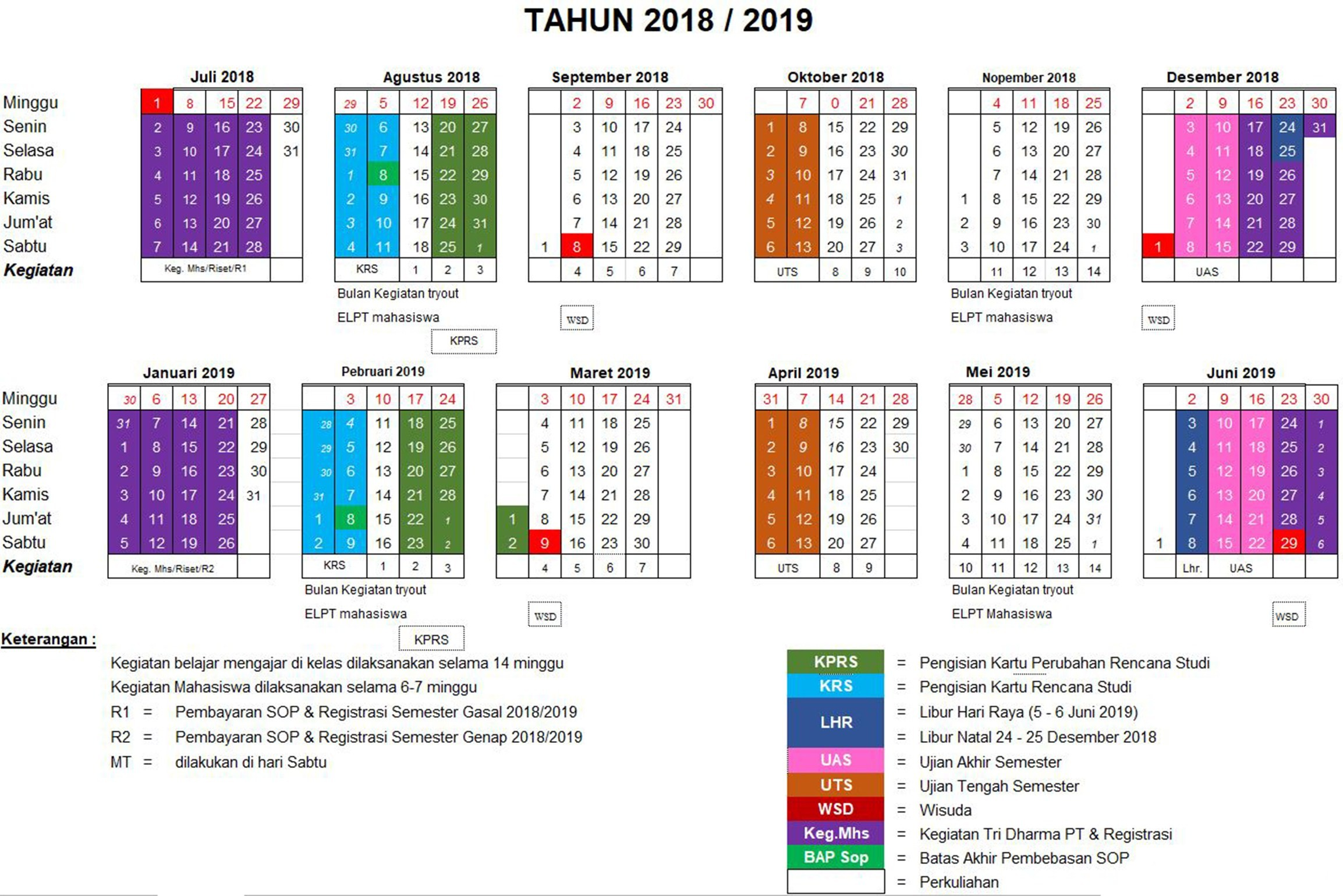 Kalender 1998 Jawa April