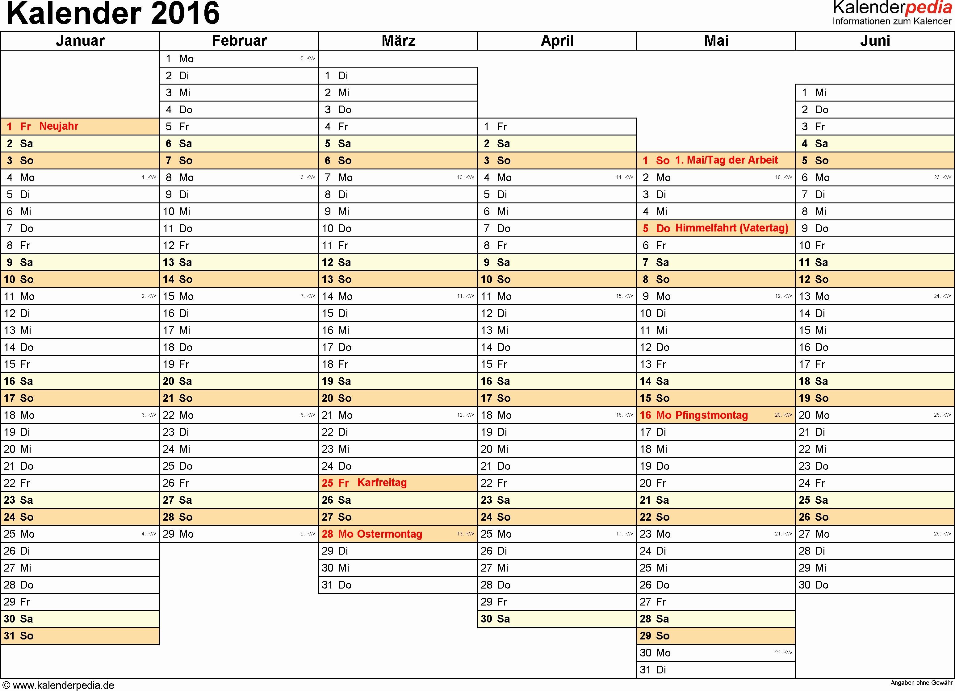 Wochenkalender 2016 Zum Ausdrucken Best Kalender Zum Ausdrucken 2016 Genial Vorlage 7 Wochenkalender 2016