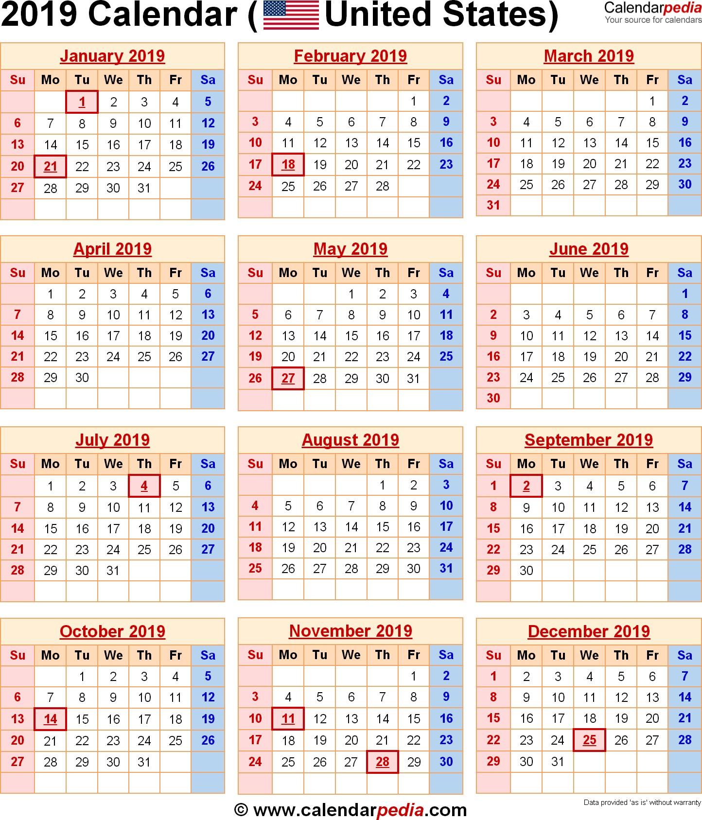 Kalender 2019 Book