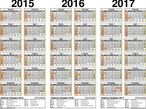 Telugu Calendar 2019 Free Download Más Populares 2015 2016 2017 Calendar 4 Three Year Printable Pdf Calendars