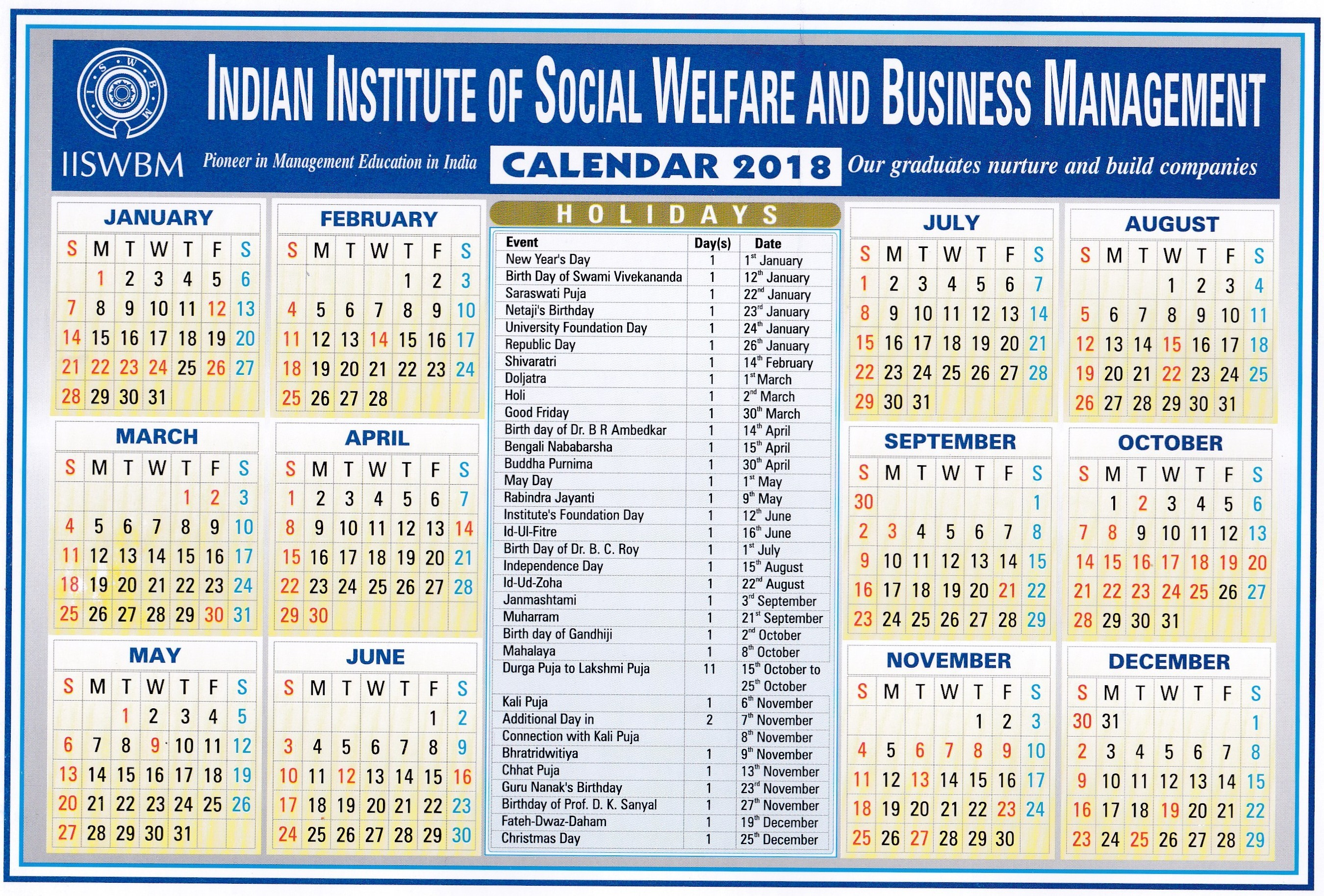 iiswbm 2015 2016 2017 calendar 4 three year printable pdf calendars telugu calendar 2019 january india august 2018 festival hindu calendar 2019 india