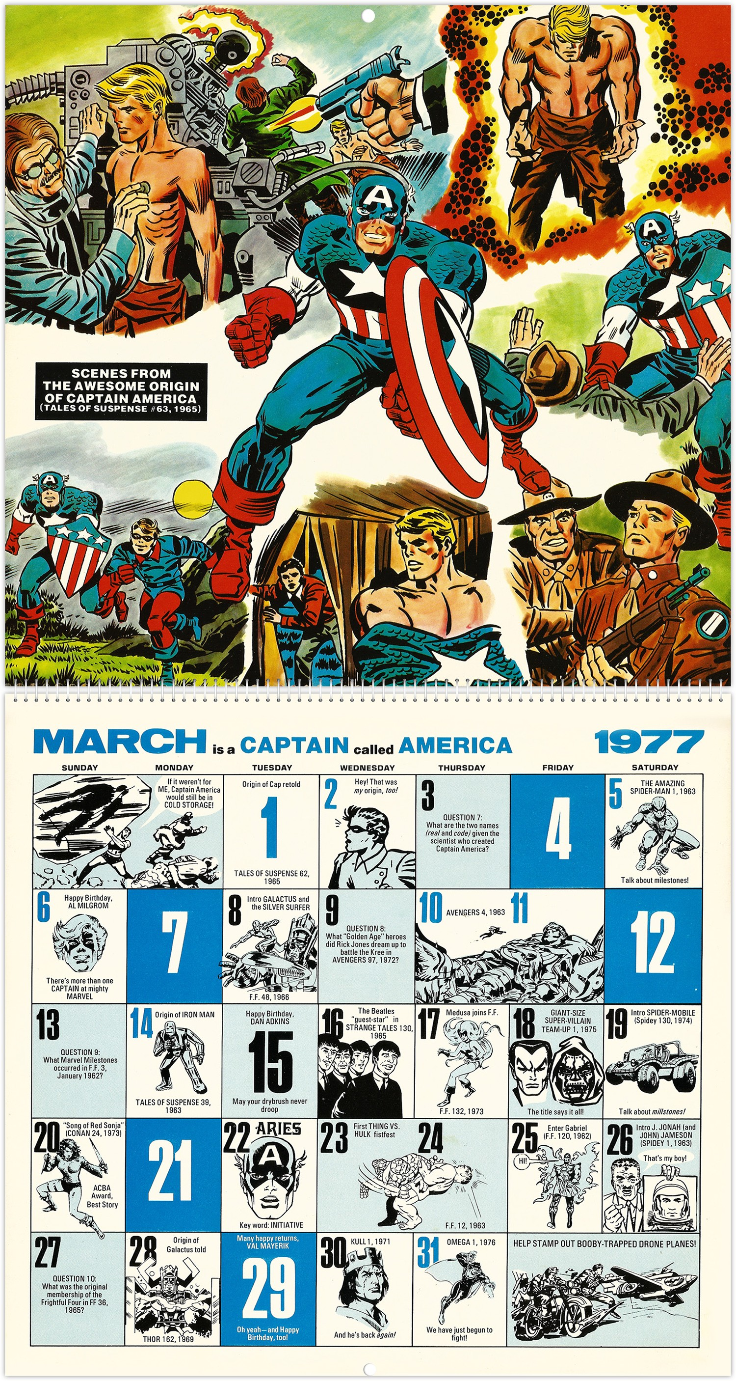 March 1979 Calendar Más Recientes Marvel Ics Memory Album Calendar 1977 Of March 1979 Calendar Más Recientemente Liberado Telugu Localnews Telugulocalnews On Pinterest
