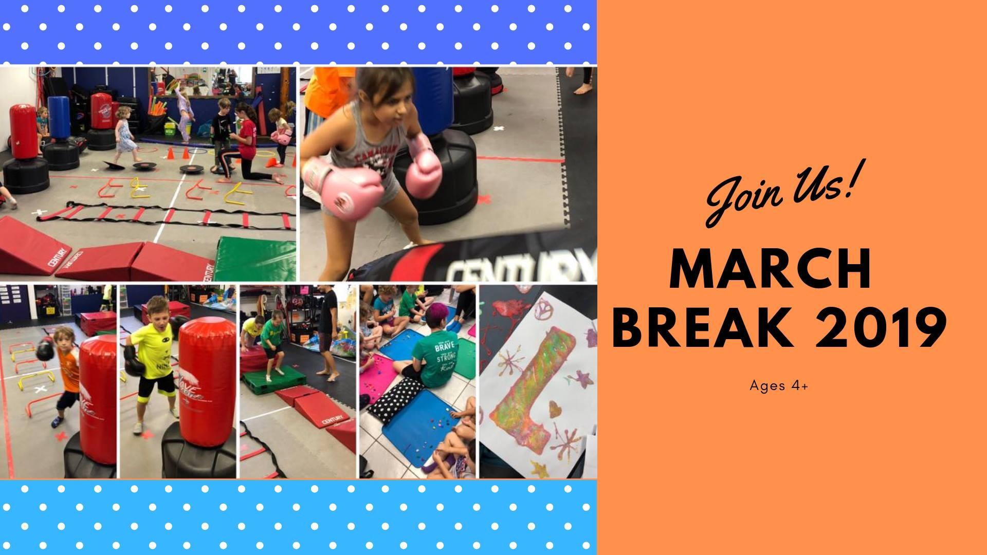 March Break 2019 Determination Martial Arts Hamilton [from 11 to 15 March ]