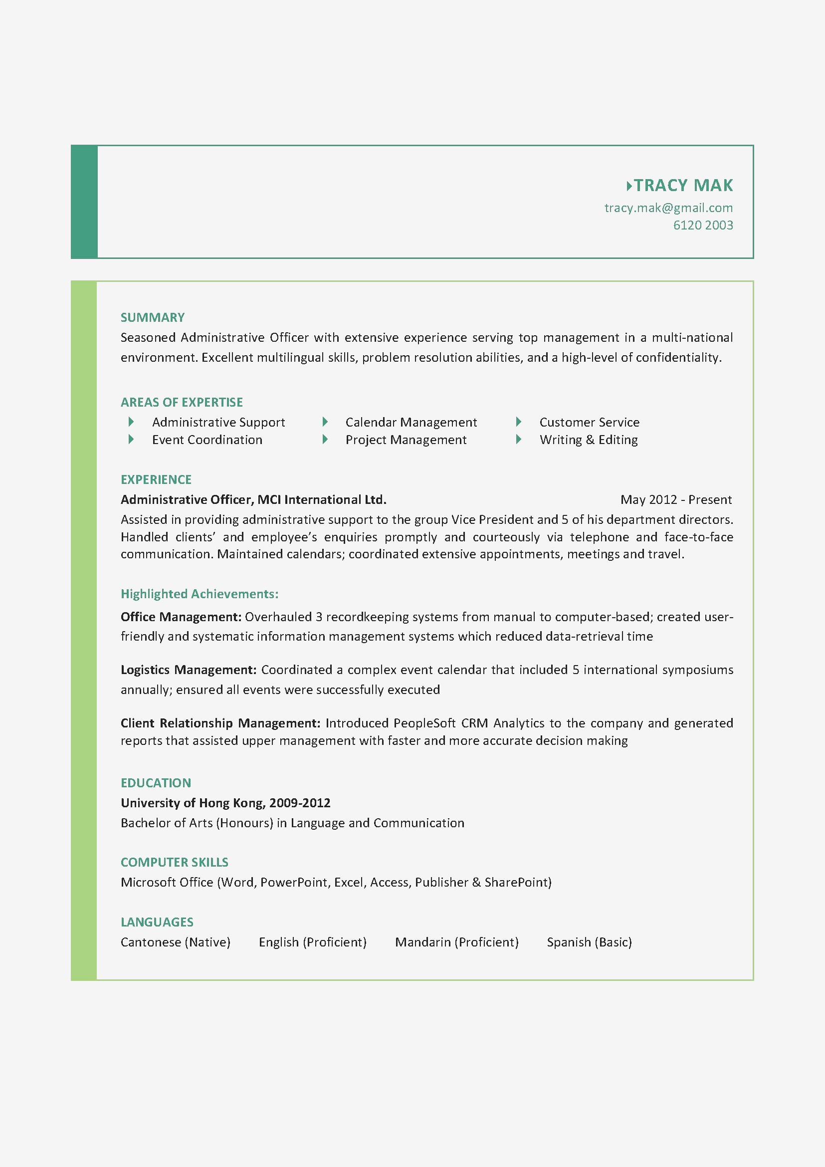 "8 s of ""Sample Resume Doc New Unique Resume Sample Doc Best Resume Doc 0d"