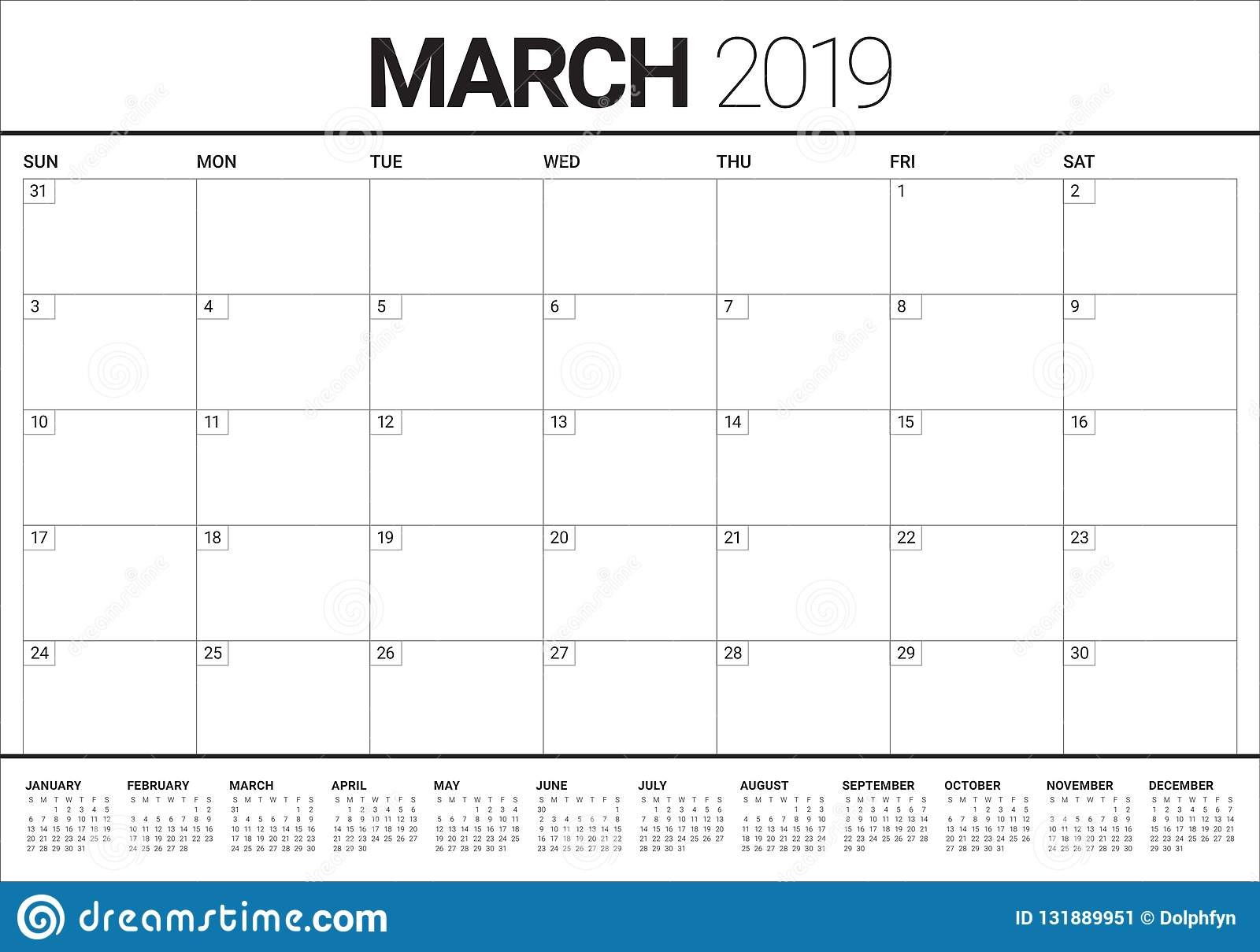 March Calendar 2019 Más Recientemente Liberado March 2019 Desk Calendar Vector Illustration Stock Vector Of March Calendar 2019 Más Populares February March Calendar 2019 2018 Printable Calendar Store