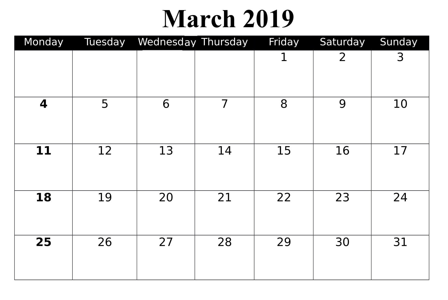 March Calendar 2019 Más Recientes March 2019 Calendar Printable Chart – Best Reviews 2019 Of March Calendar 2019 Más Populares February March Calendar 2019 2018 Printable Calendar Store