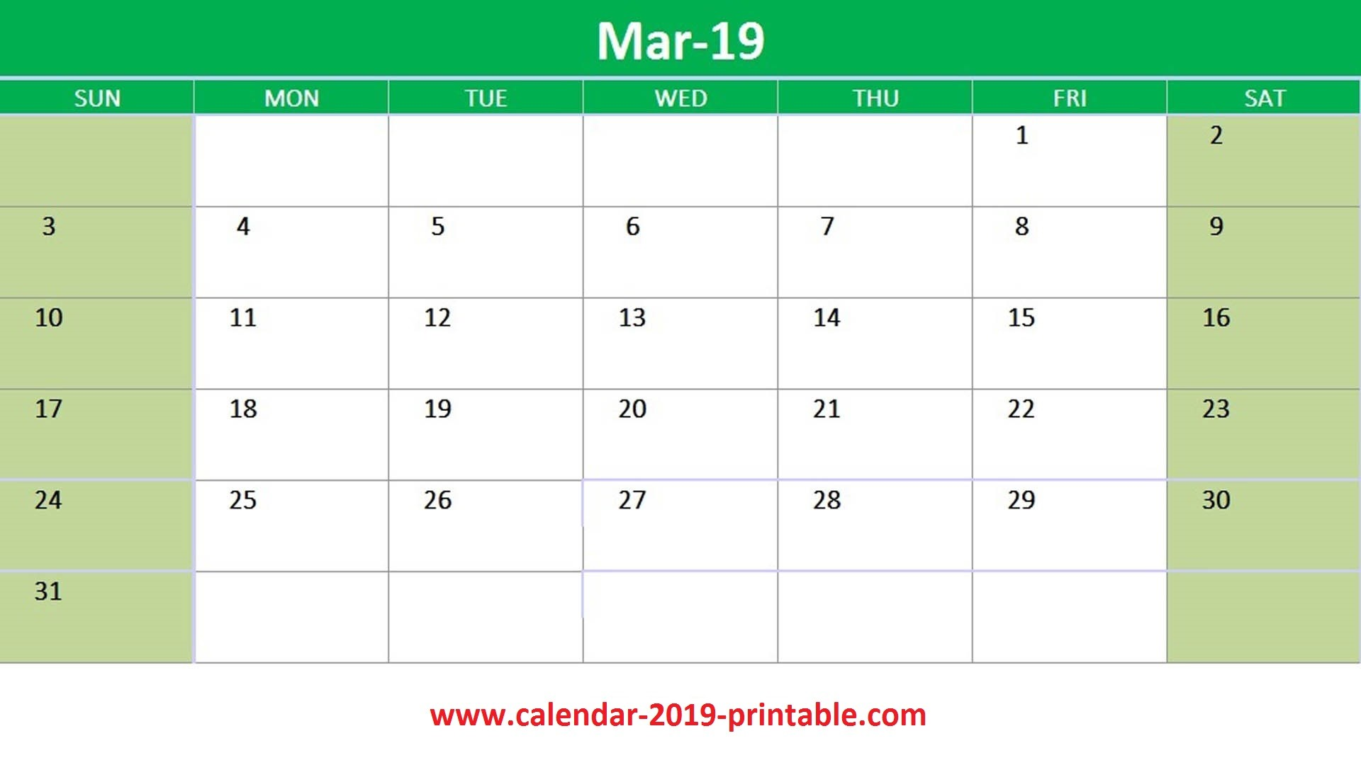 March Calendar 2019 Más Recientes March 2019 Calendar Printable Templates Of March Calendar 2019 Más Recientes March 2019 Wall Calendar Colorful Sketch Horizontal Template Letter