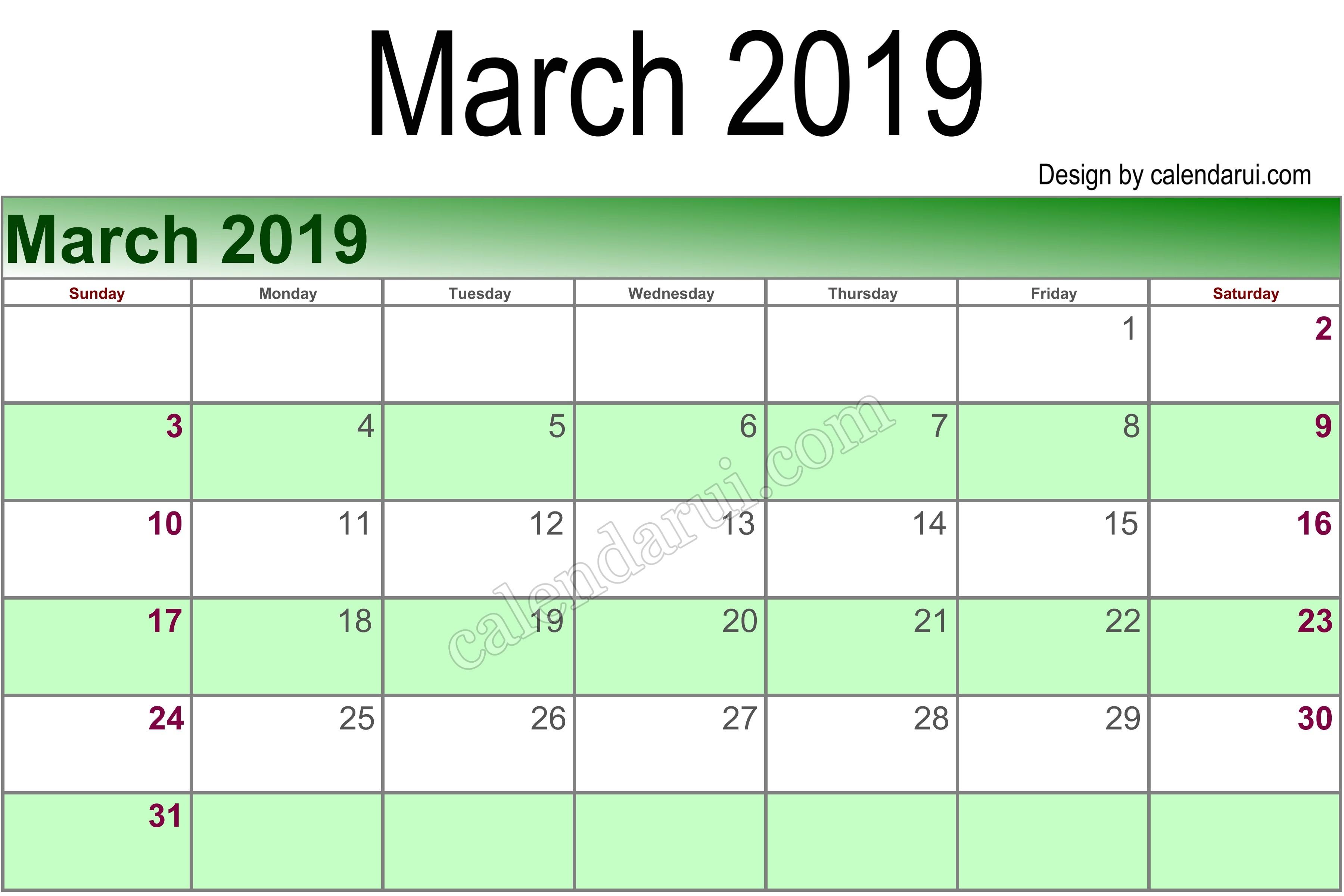 March Calendar 2019 Más Recientes Of March Calendar 2019 Template Rock Cafe Of March Calendar 2019 Mejores Y Más Novedosos 30 Day Calendar Template Awesome Calendar 1 April 2018 to 31 March