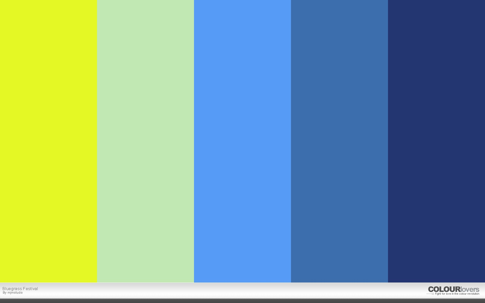 Bluegrass Festival Color Palettes Pinterest