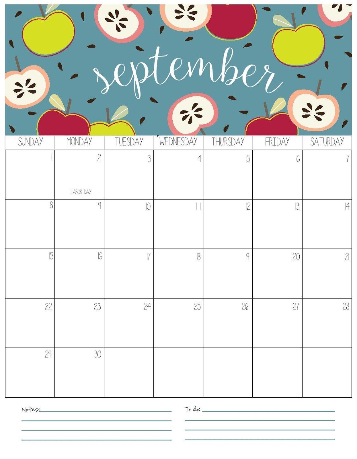 Kalender 2019 zum ausdrucken für kinder Tipss und Vorlagen September Calendar Printable Calendar 2018