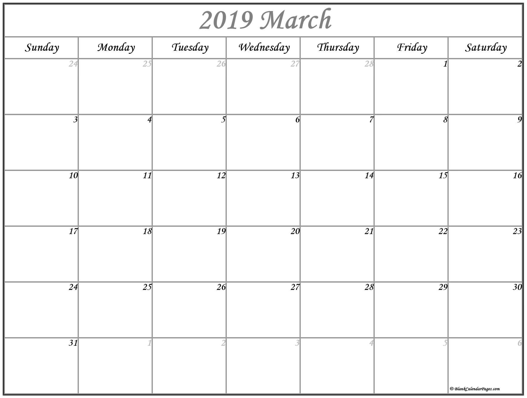 March Holiday Calendar 2019 Más Caliente March 2019 Calendar Of March Holiday Calendar 2019 Mejores Y Más Novedosos March 2019 Calendar Printable with Holidays