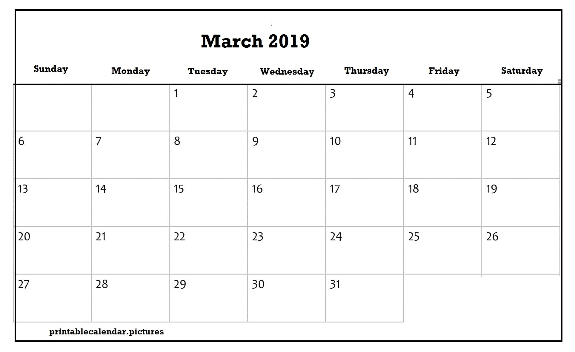 March Holiday Calendar 2019 Más Reciente March 2019 Calendar Printable Vartical and Horizontal Layout Of March Holiday Calendar 2019 Mejores Y Más Novedosos March 2019 Calendar Printable with Holidays