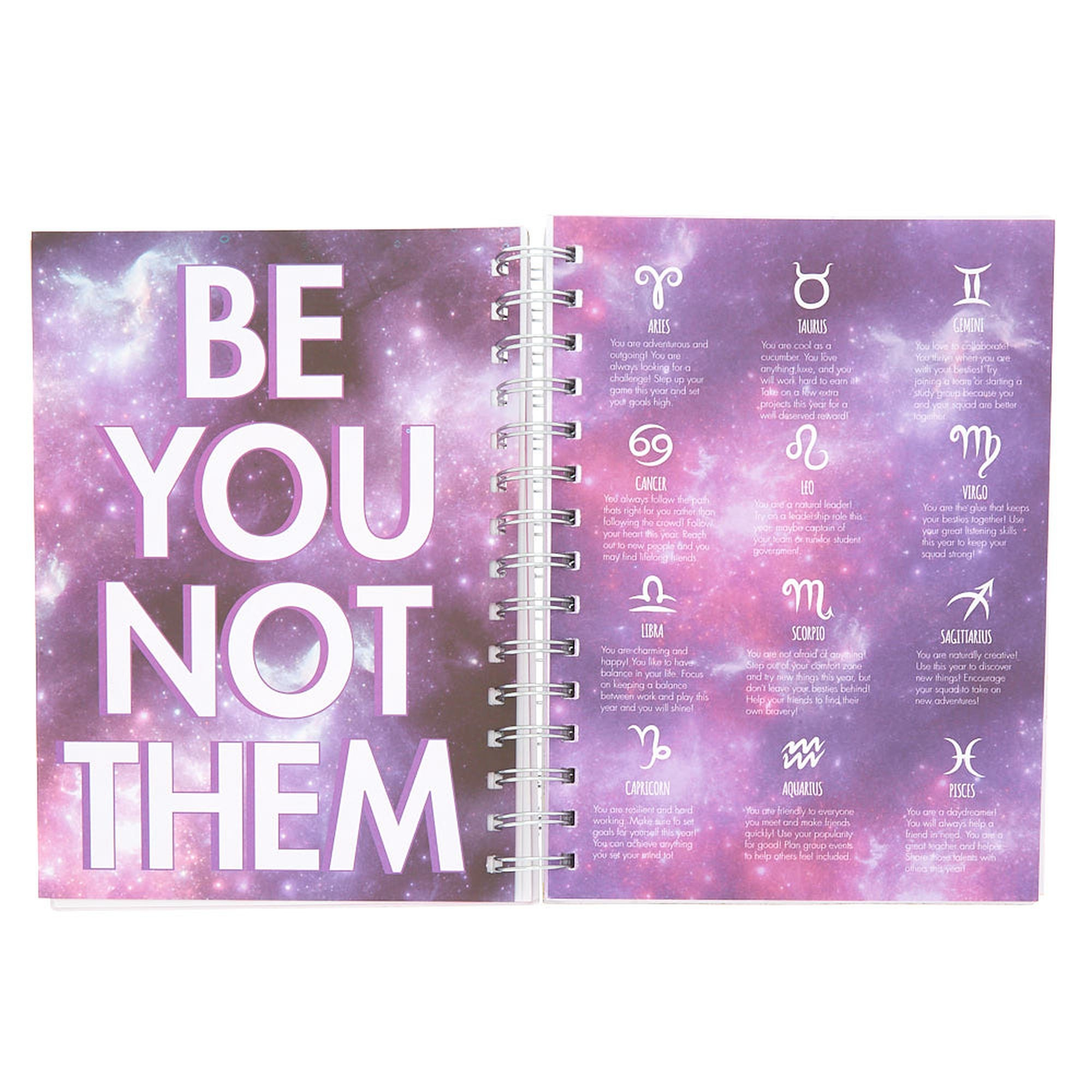 Unicorn PWR Diary Purple