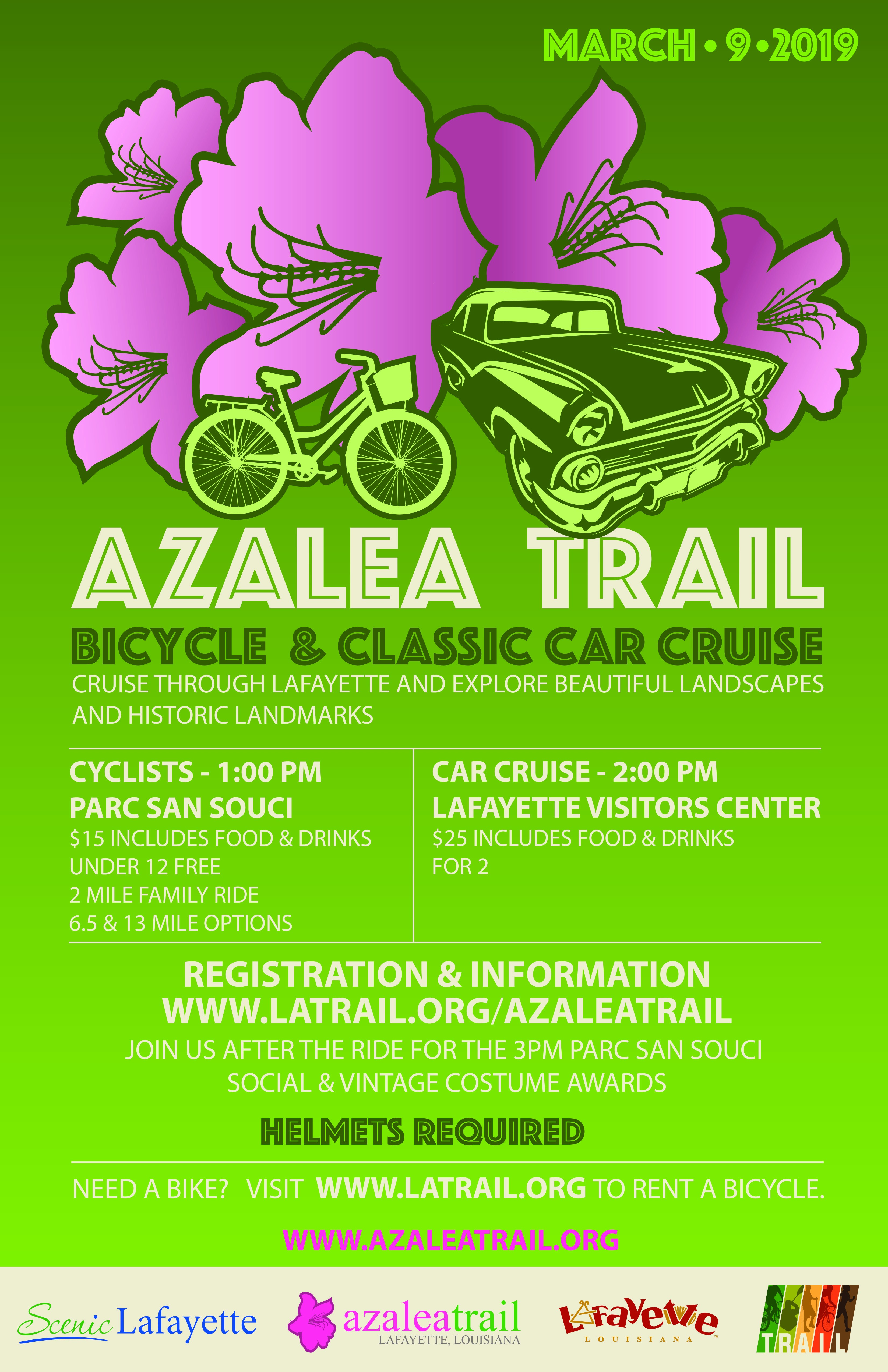 Azalea Trail Classic Car Cruise & Bike Ride