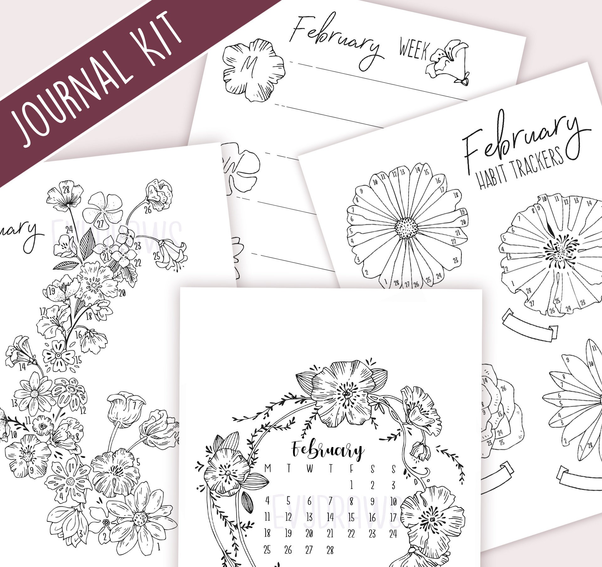 2019 March Calendar Sri Lanka Más Recientes February 2019 Bullet Journal Kit Printable Monthly Bundle Of 2019 March Calendar Sri Lanka Mejores Y Más Novedosos A Technical Perspective Understanding the Concept Of the Multiple