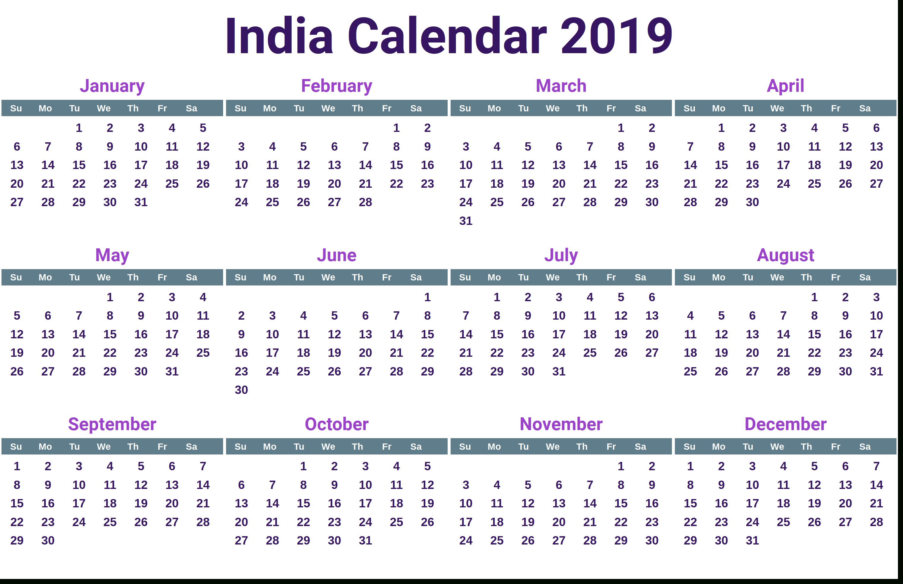India calendar with free printable indian holidays april hindu calendar tithi hindi picturesque png 3040x1966 Tithi