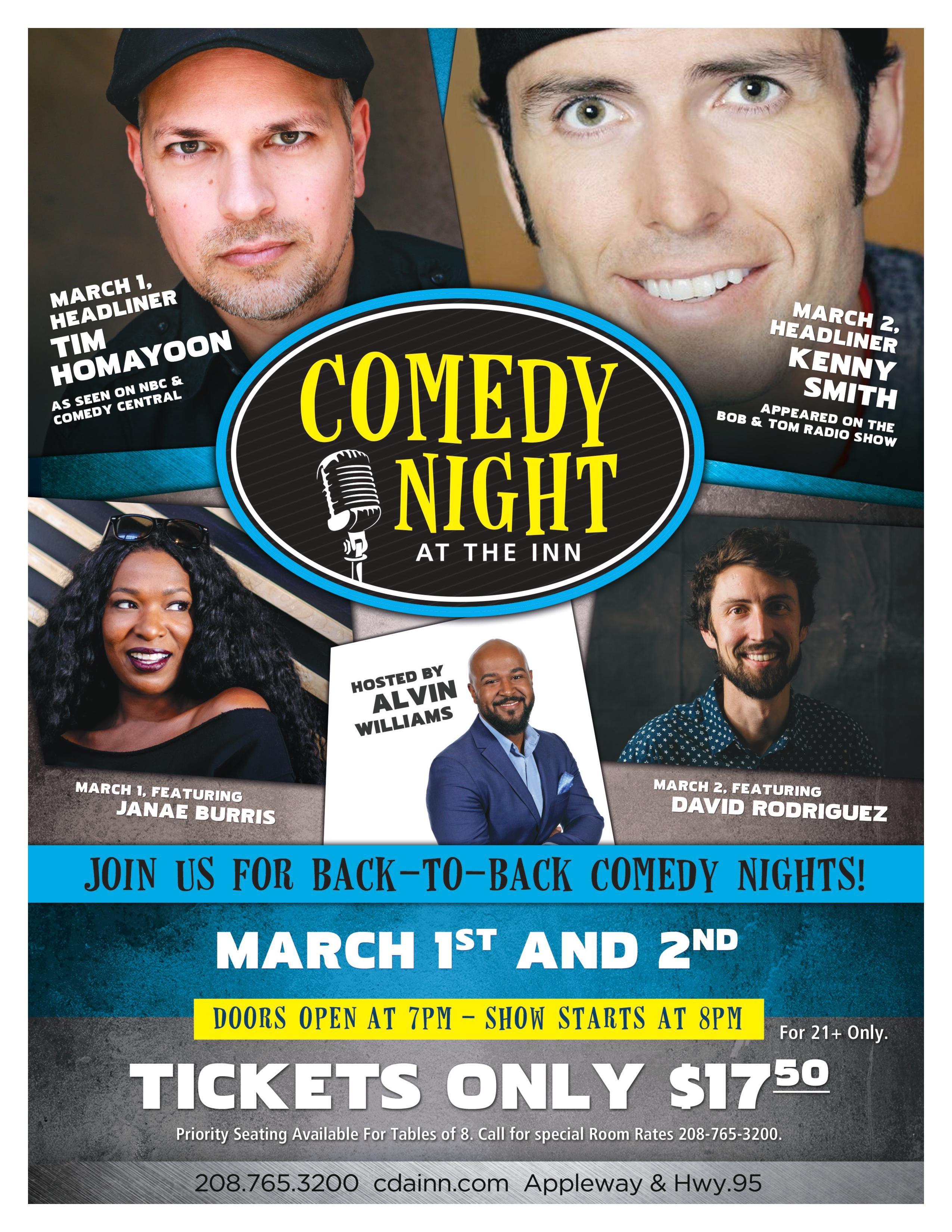 March 2019 edy Nights