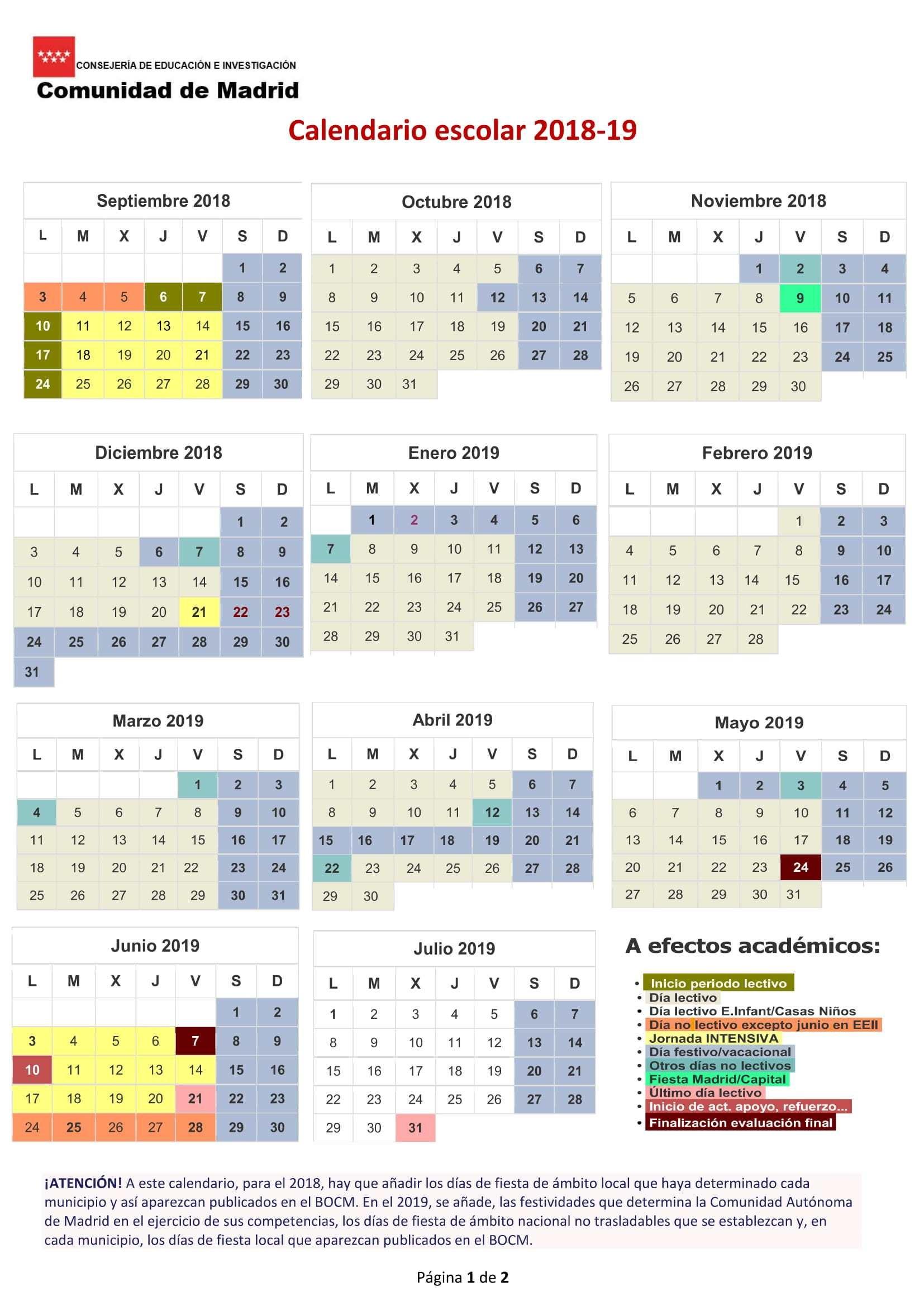 Abril 2019 Con Festivos Word Calendario t