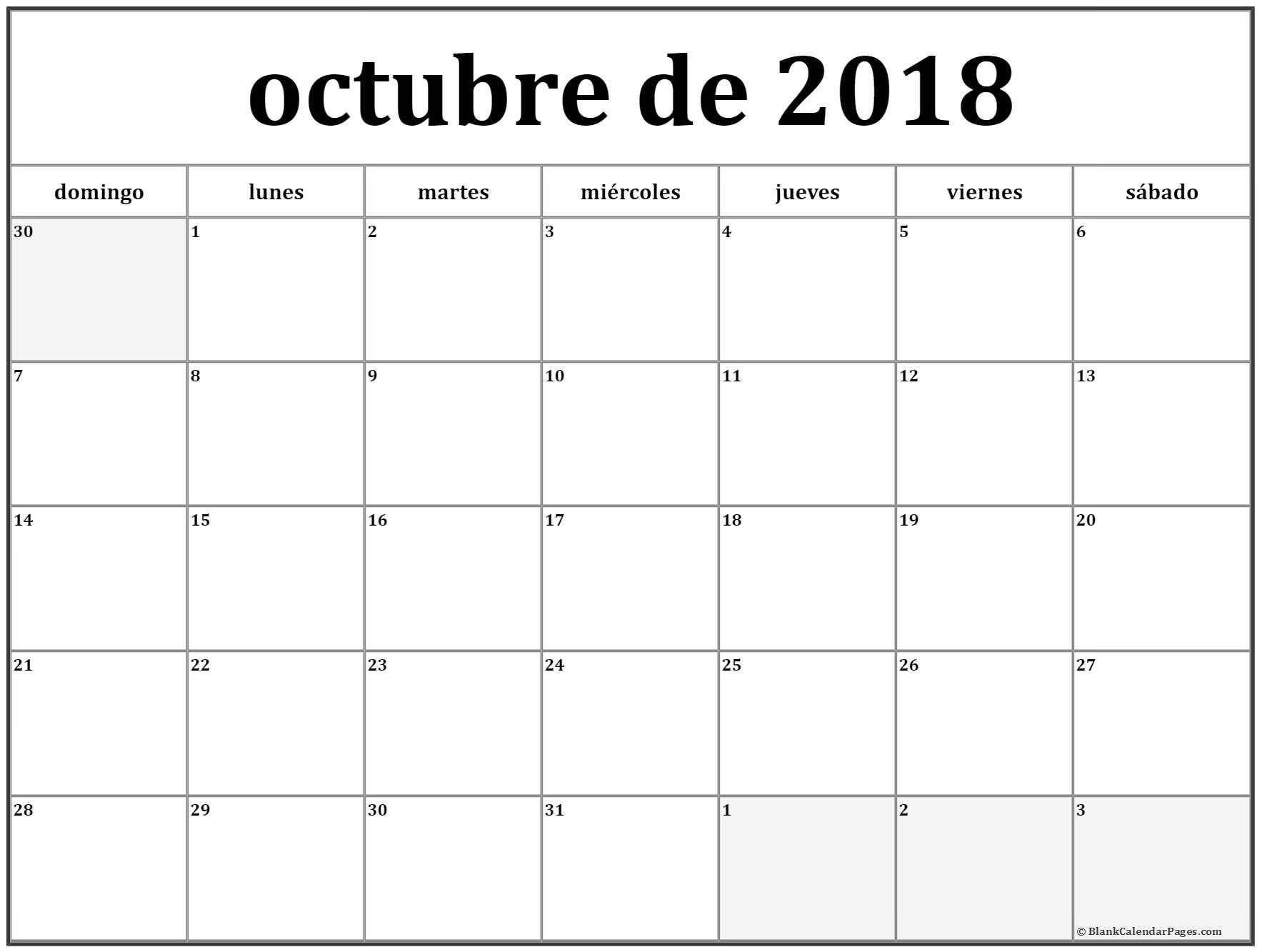 Calendario Enero 2019 Para Imprimir A4 Más Caliente Imagenes De Calendario Mes De Octubre 2018 A Mes De Of Calendario Enero 2019 Para Imprimir A4 Más Reciente Calendario Para Imprimir 2018 2019 Calendario