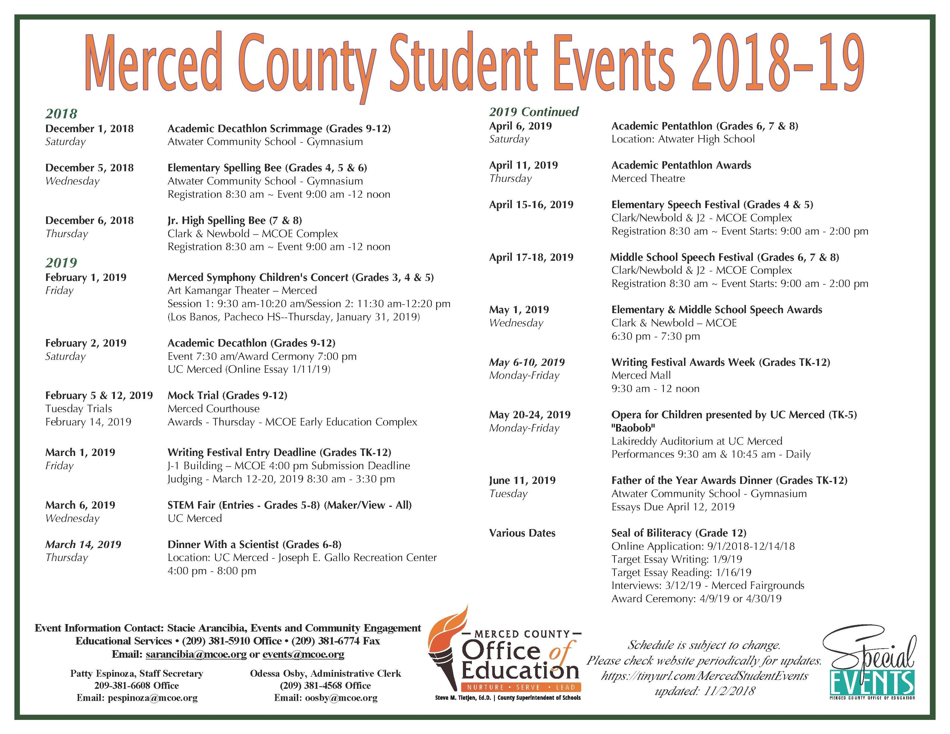 Editable March 2019 Calendar Mcoe Student events