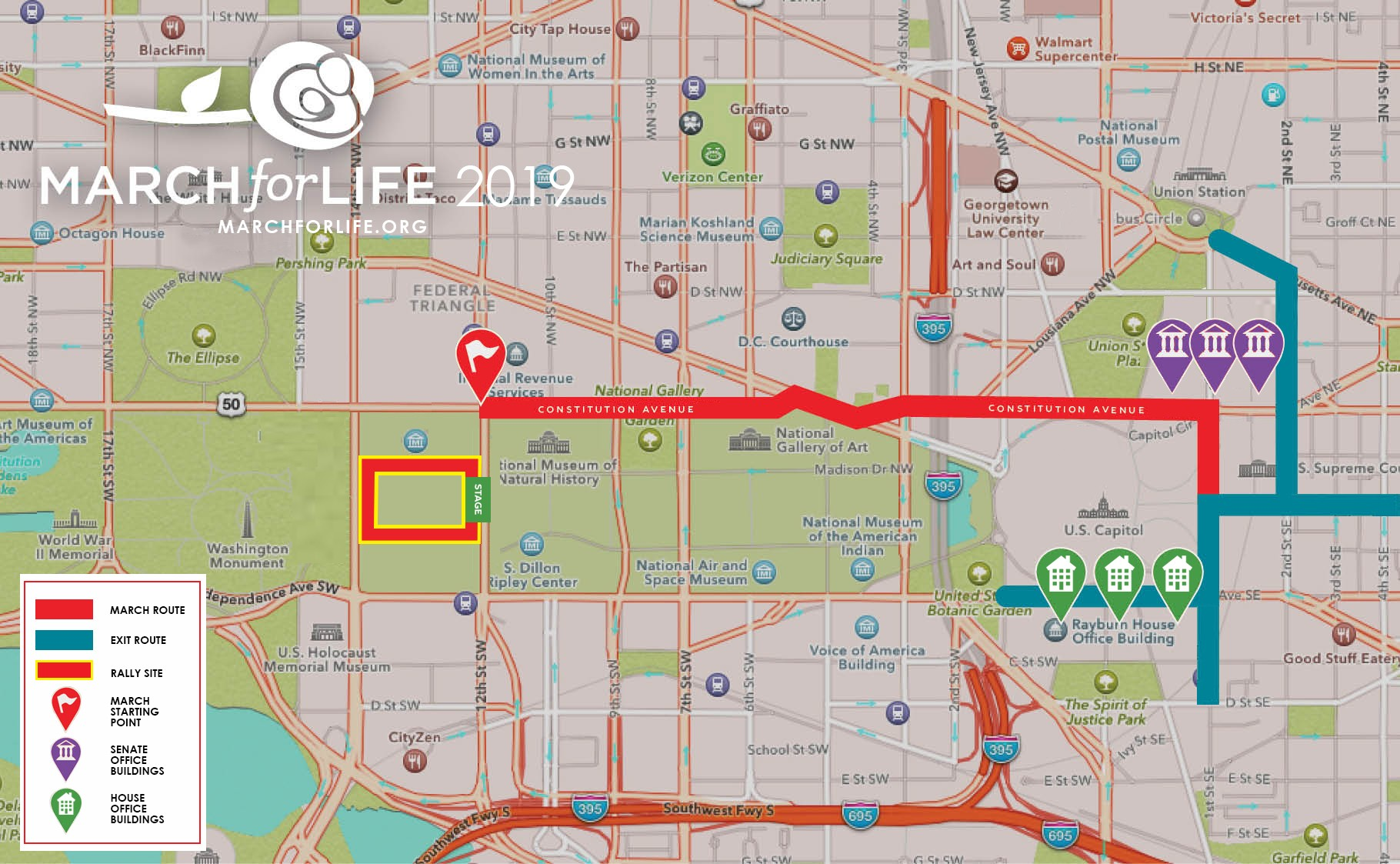 the March for Life app