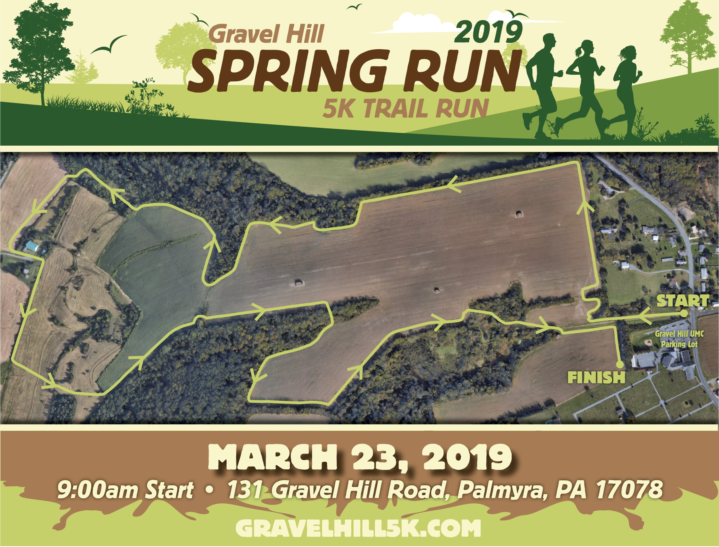 March 2019 Calendar Landscape Más Reciente Gravel Hill Spring Run 5k Ghumc Of March 2019 Calendar Landscape Más Recientemente Liberado December 2019 Calendar