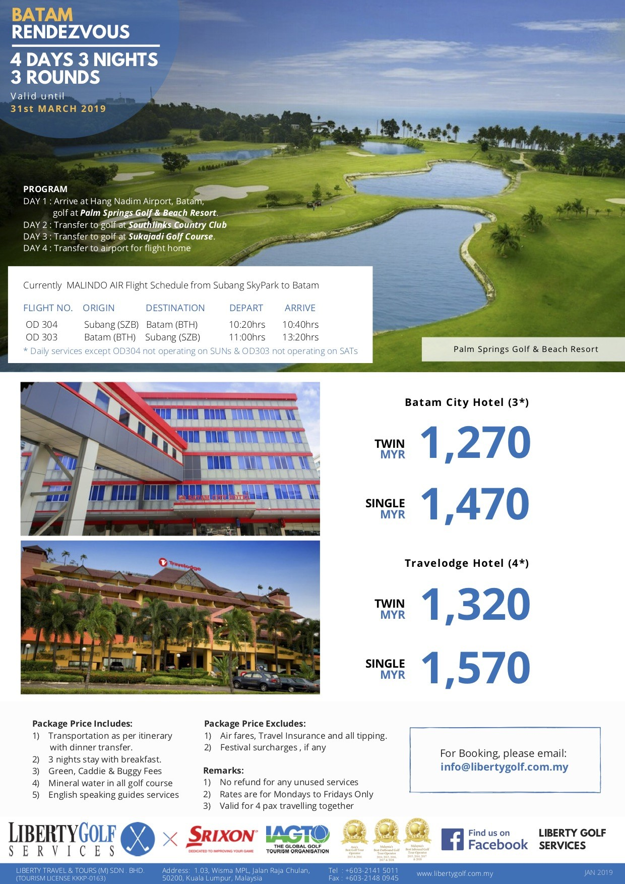 March 2019 Calendar Landscape Mejores Y Más Novedosos Liberty Golf Batam Golf Package 4d3n3r Of March 2019 Calendar Landscape Mejores Y Más Novedosos 2015 2016 2017 Calendar 4 Three Year Printable Pdf Calendars