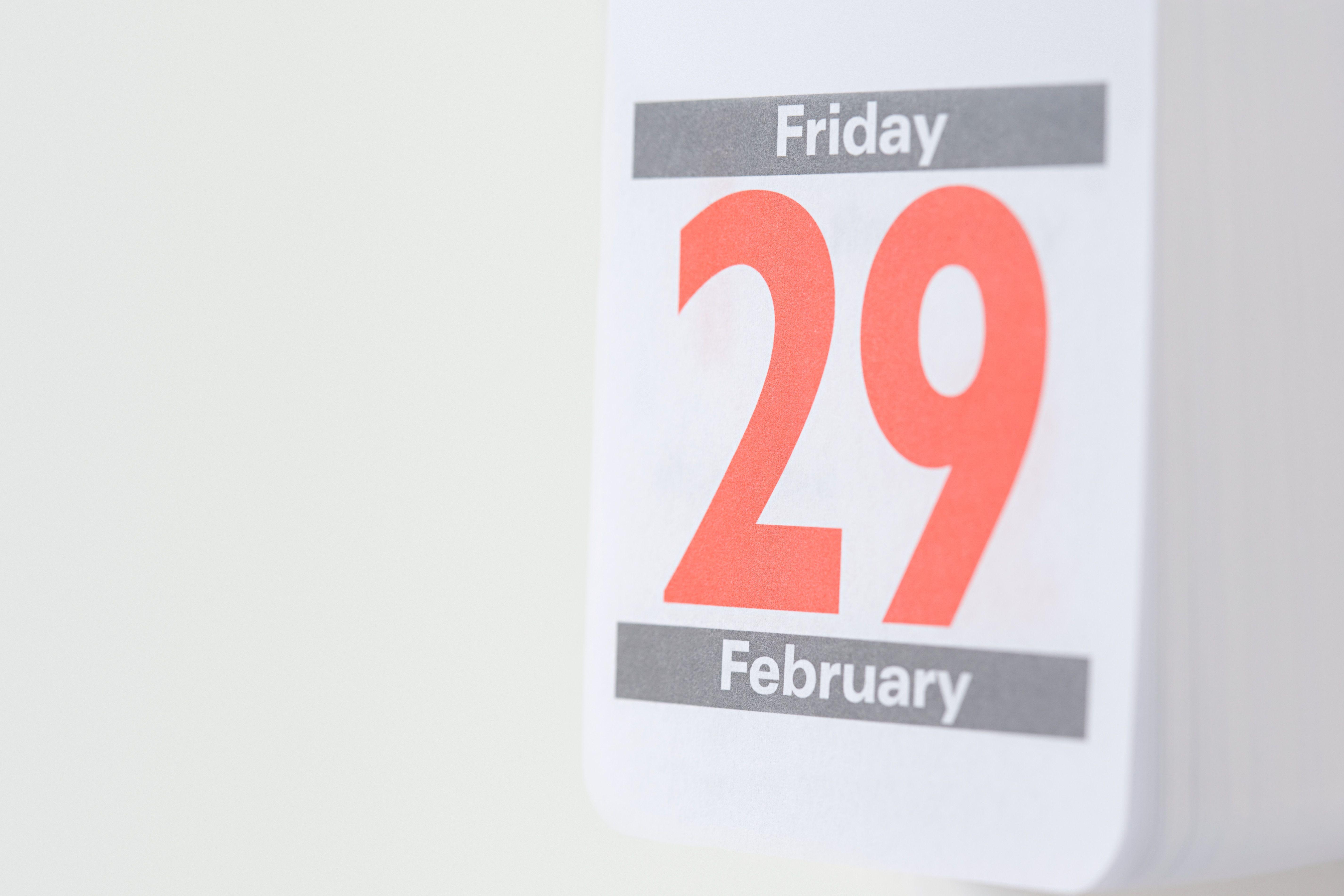 twenty ninth february on a calendar 5a69ffef875db a500f0