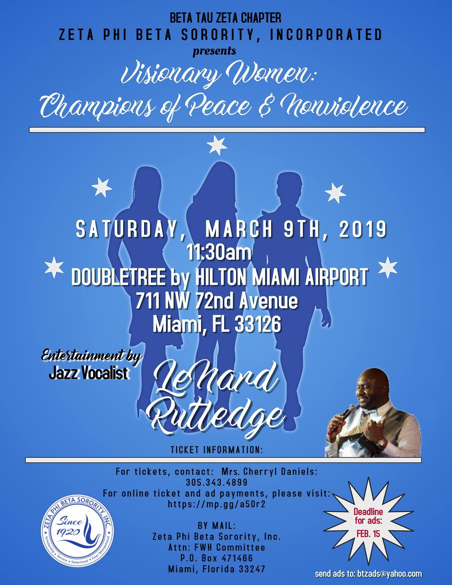 Finer Womanhood munity Awards Luncheon DoubleTree by Hilton Miami Airport Convention Center Miami [9 March]