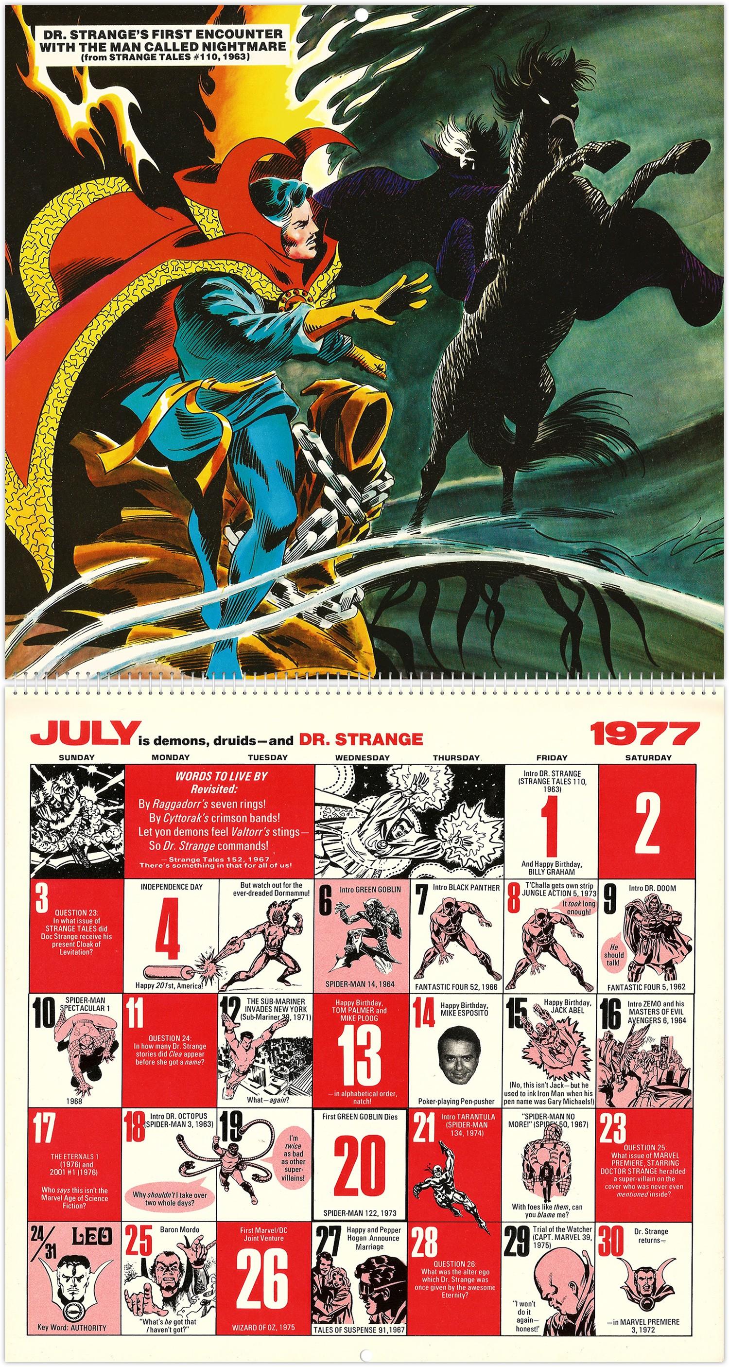 March Calendar Art Más Recientes Marvel Ics Memory Album Calendar 1977 Of March Calendar Art Más Actual Templates for Powerpoint Swimlane Template Luxury A E A Calendar