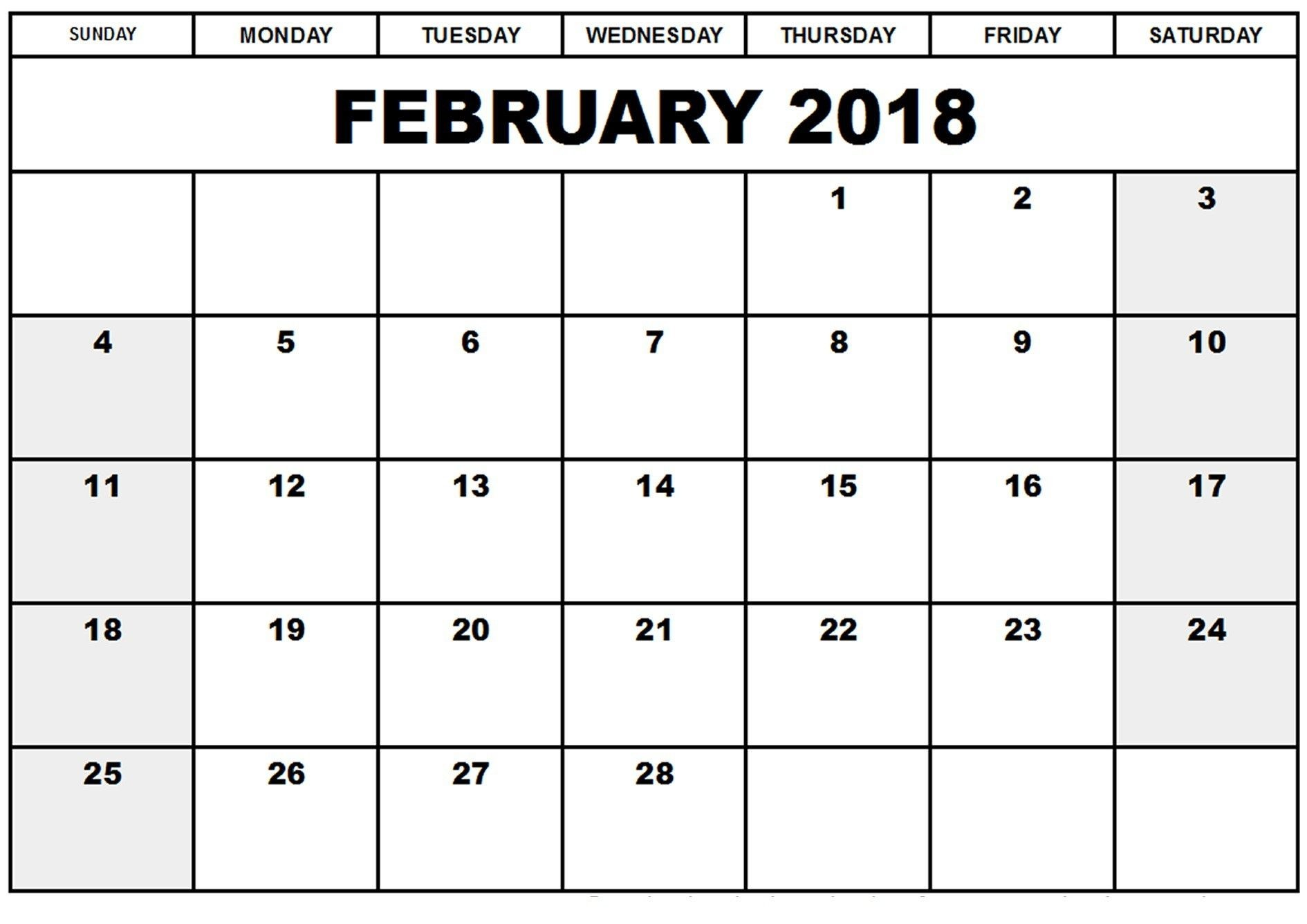 printable february 2019 calendar with holidays feb 2018 calendarfebruary 2019 calendar template printable