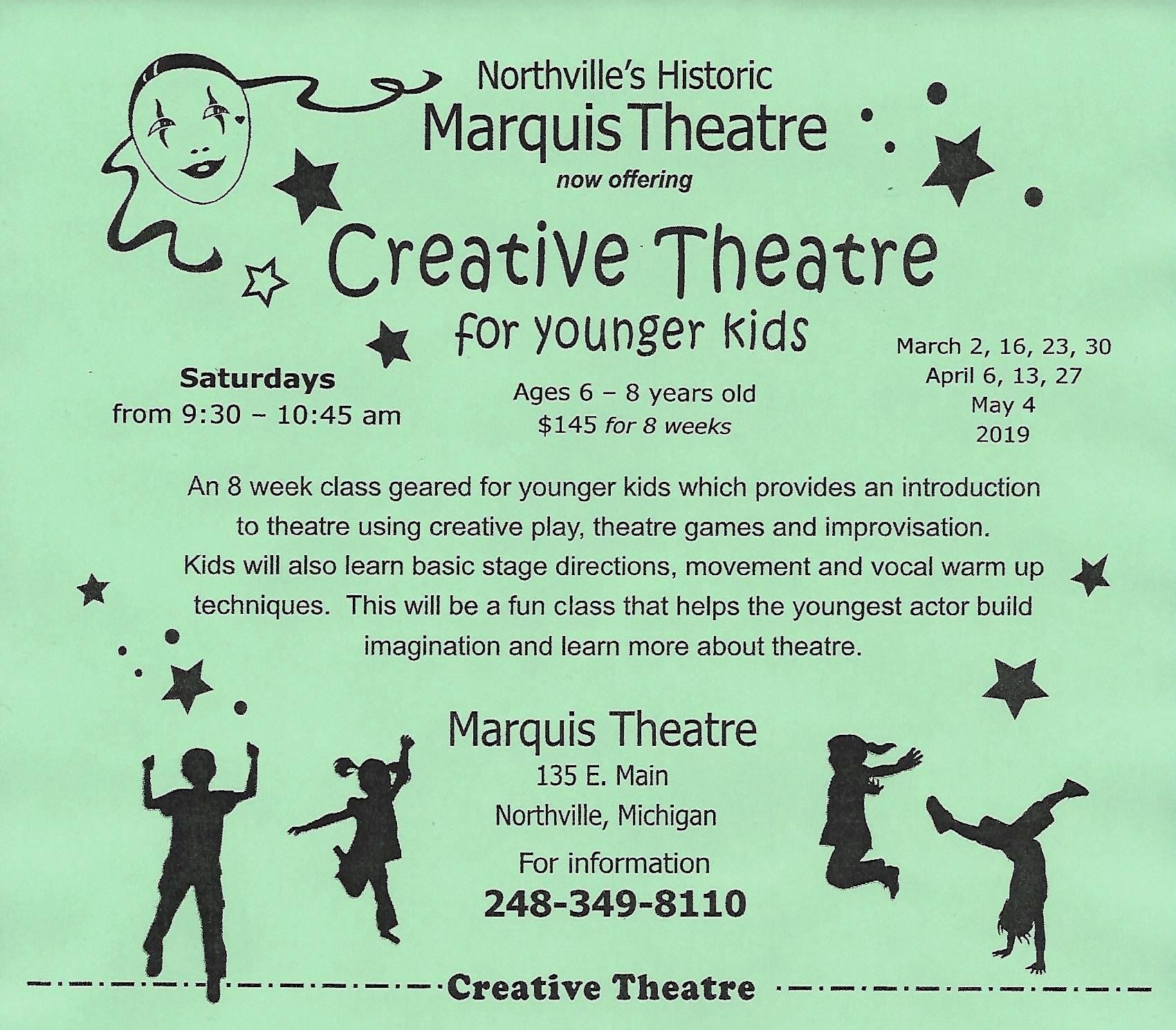March Calendar Kids Más Populares Creative theatre Acting Classes for Kids Ages 6 8 Marquis Of March Calendar Kids Más Recientes Free Printable toddler Weekly Calendar Projectsinparenting