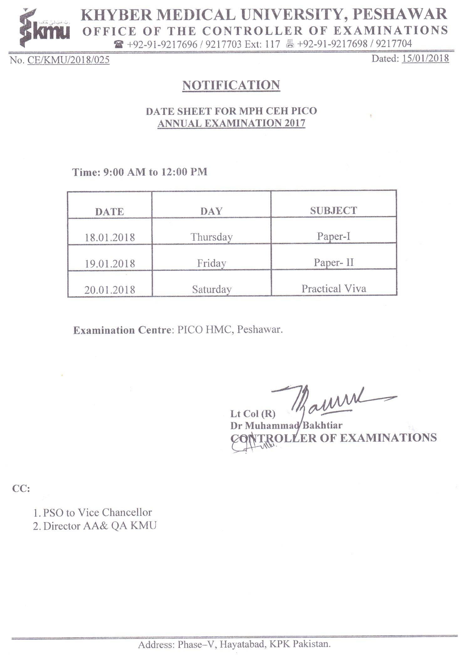 OD 2nd Final Merit List