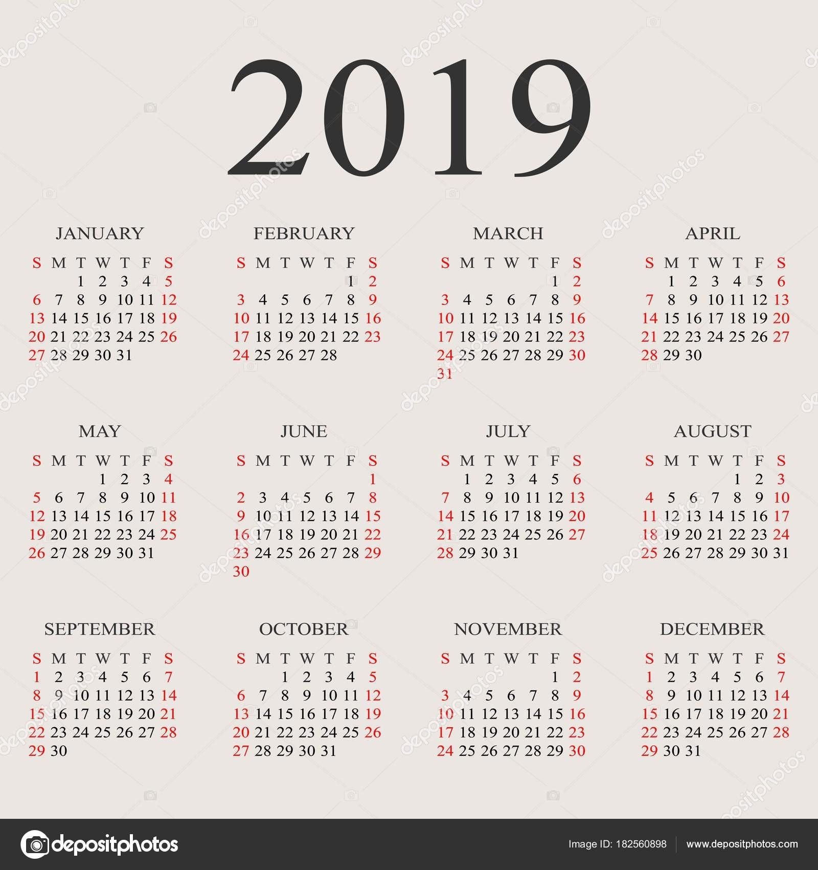 Calendar 2019 In Telugu With February Template