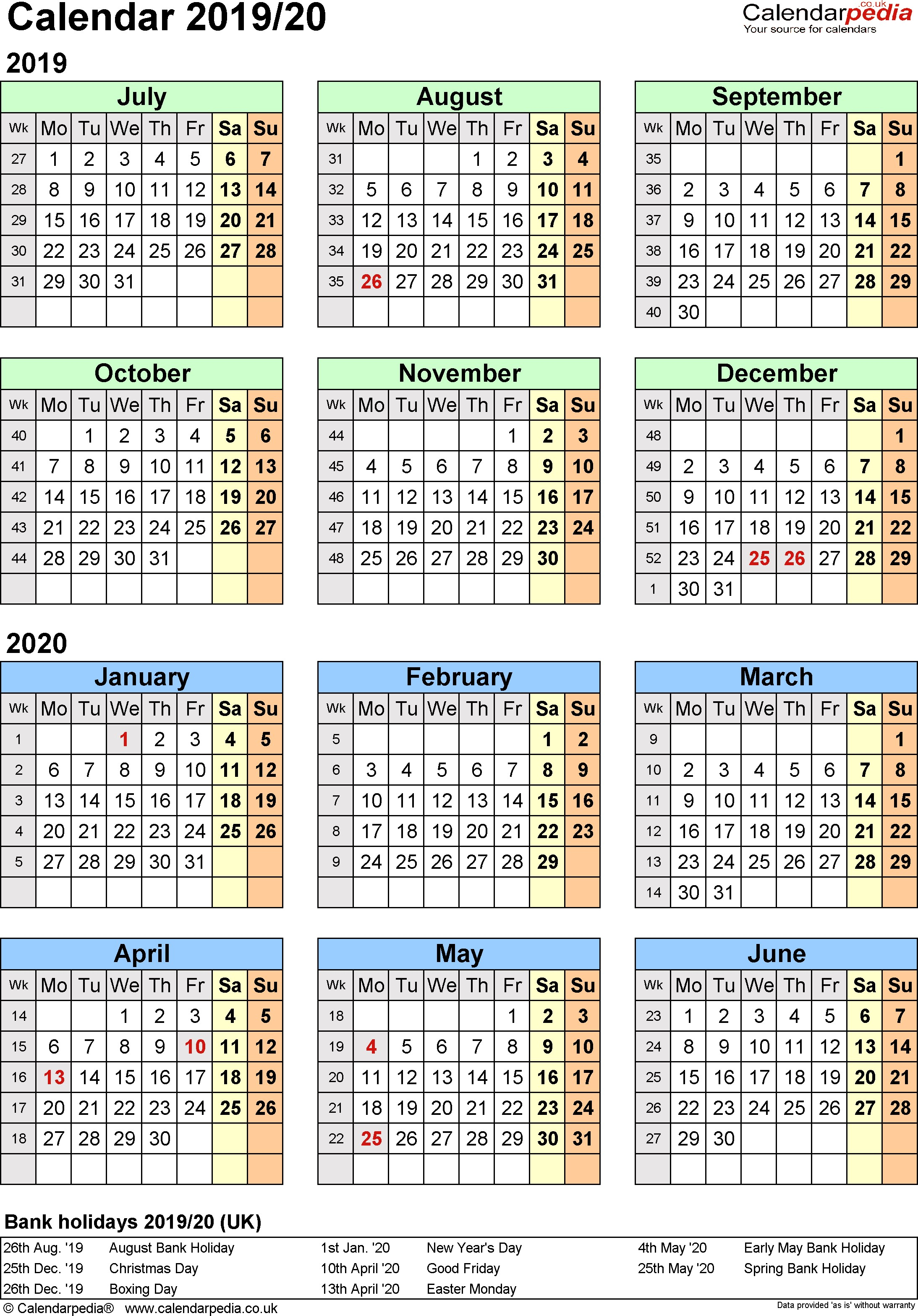 template 2 excel template for split year calendar portrait orientation