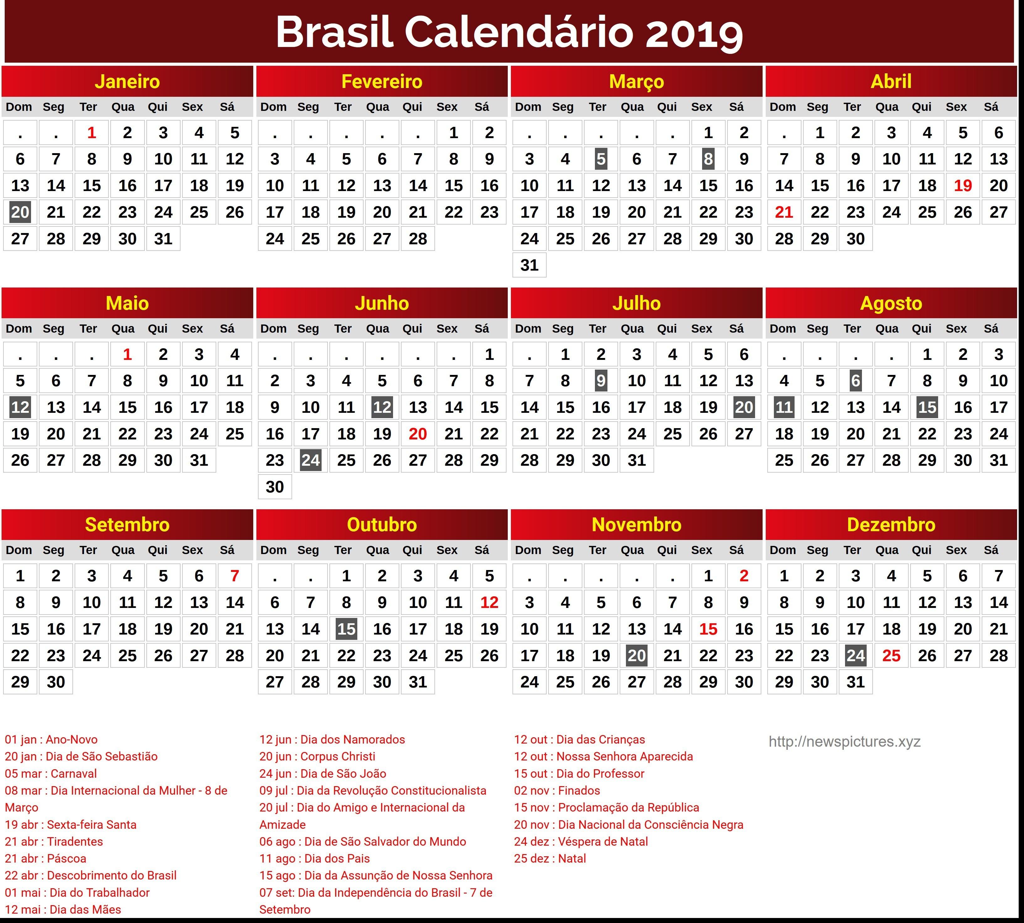 Calendar for year brasil printable seg ter feriados calendario newspictures qua feriados holidays peru 3267x2947