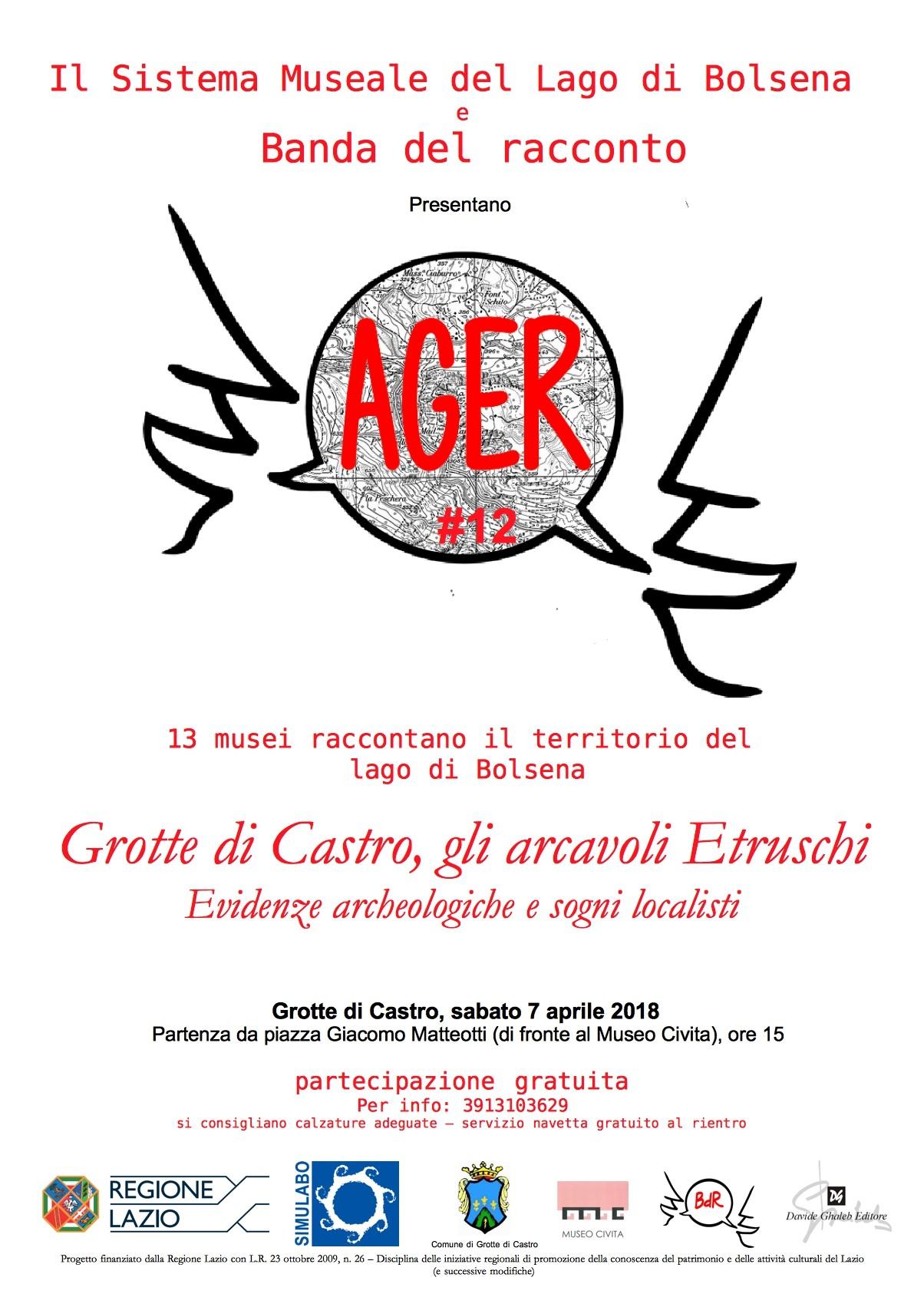 28 03 2018 AGER 12 Grotte di Castro gli arcavoli Etruschi