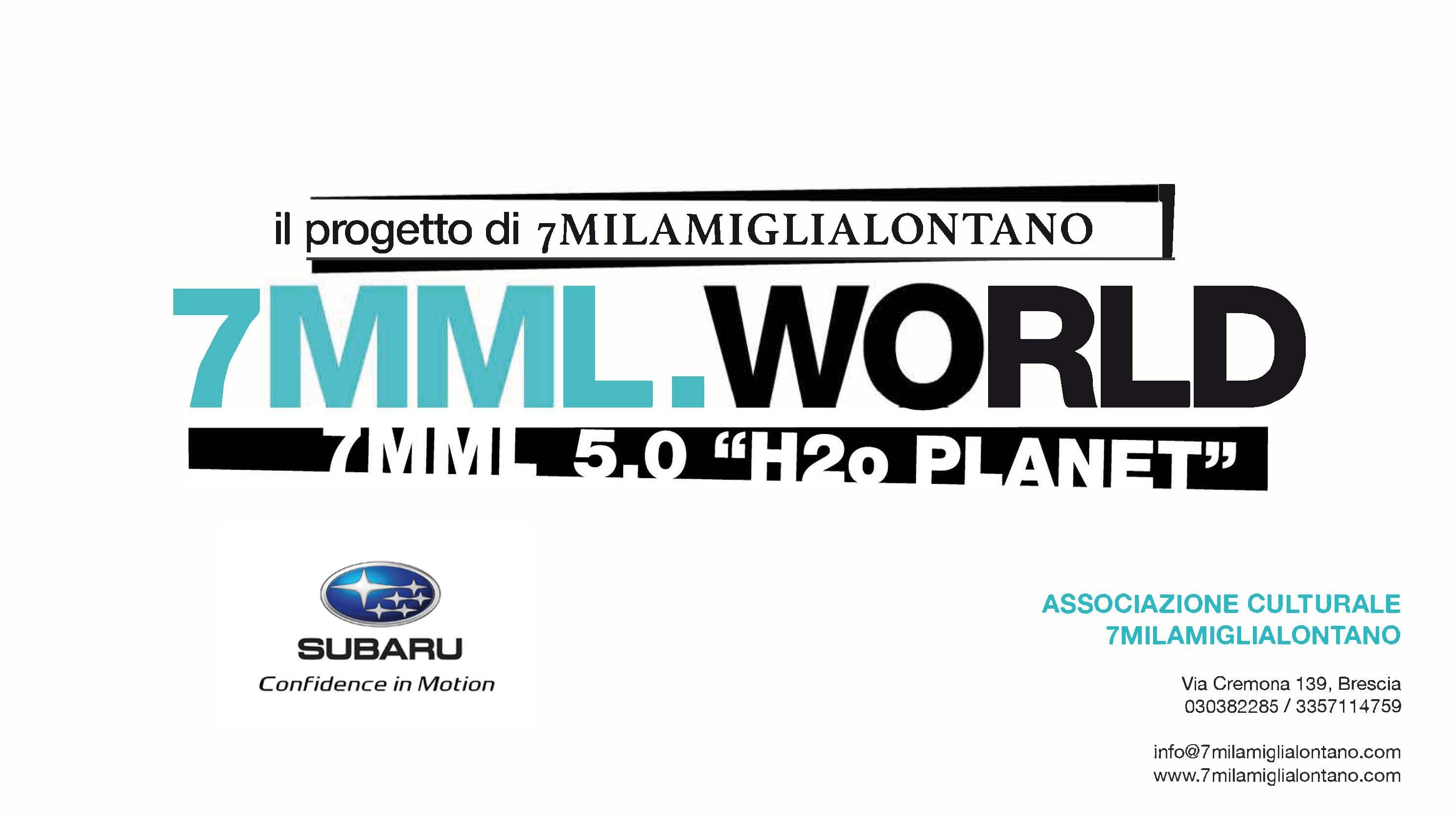SUBARU presenta il pro to 7MML WORLD