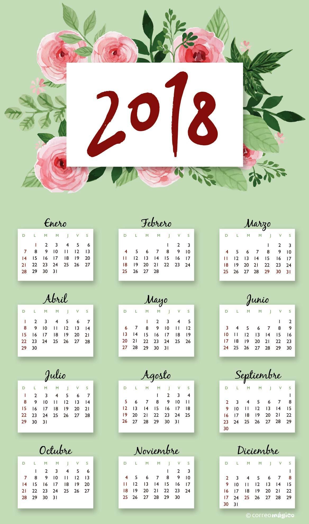 cal floresacuarela 2018 cal floresacuarela 2018